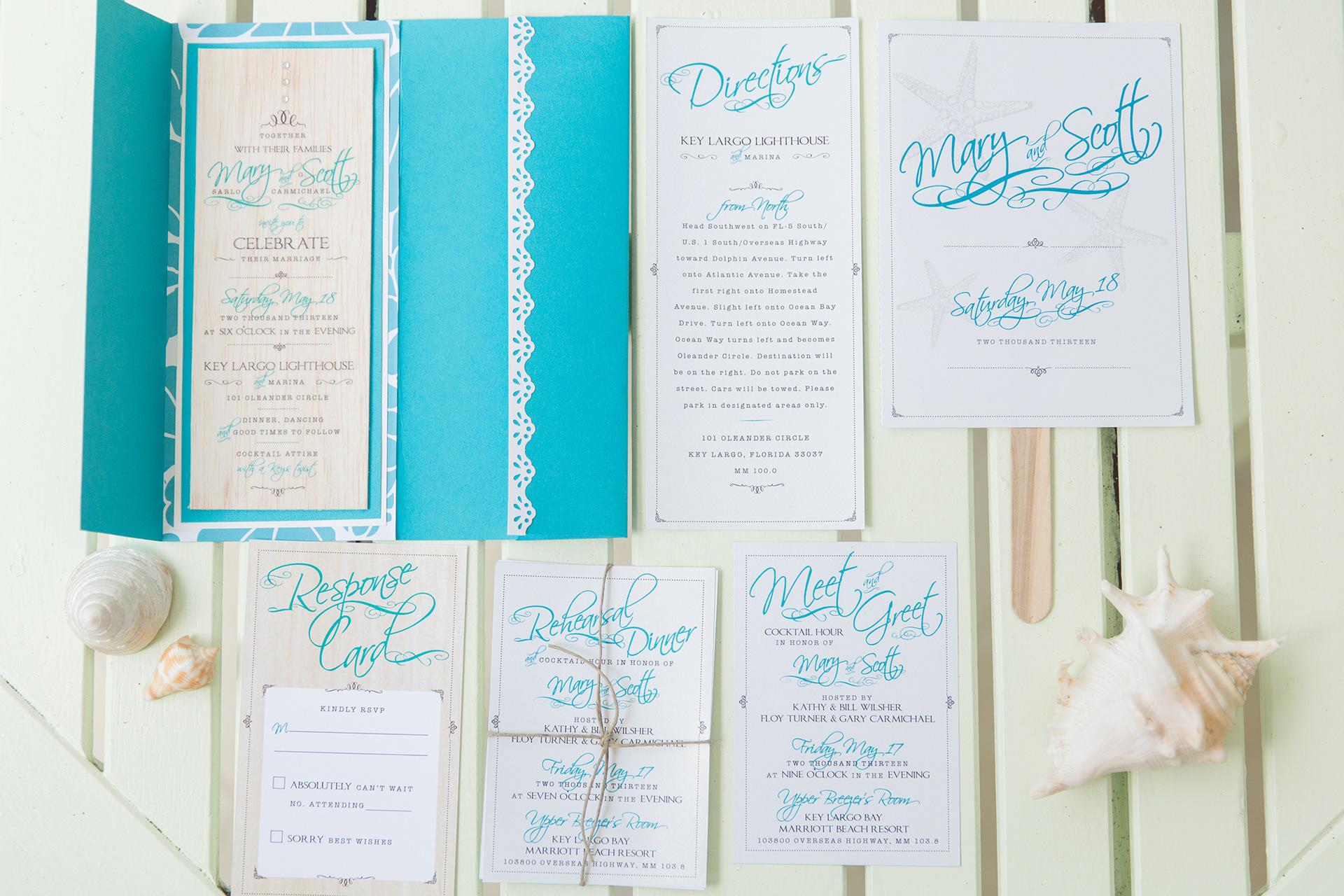 Mary Sarlo Carmichael - Coastal Wedding Kit