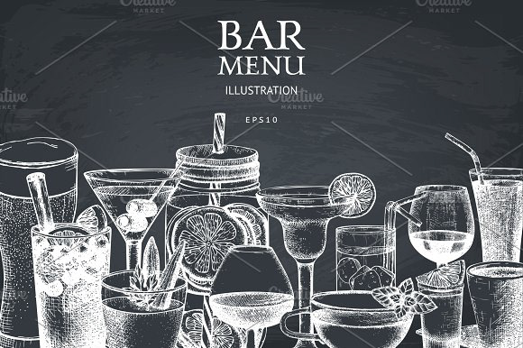 DEOUR - Webdesign Resources & Development - Chalkboard Bar