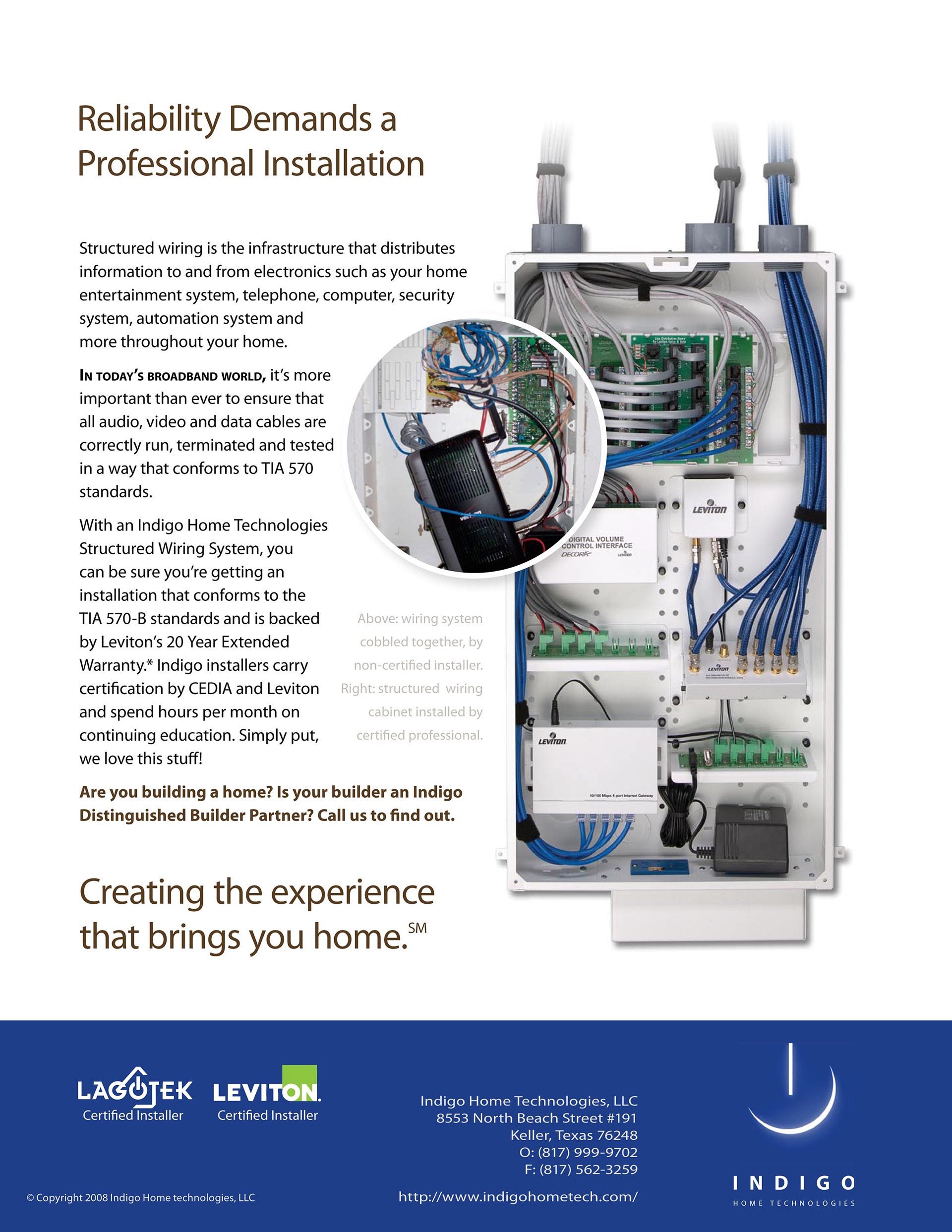 Home Automation Structured Wiring Systems Solutions William Alexy Indigo Looking For