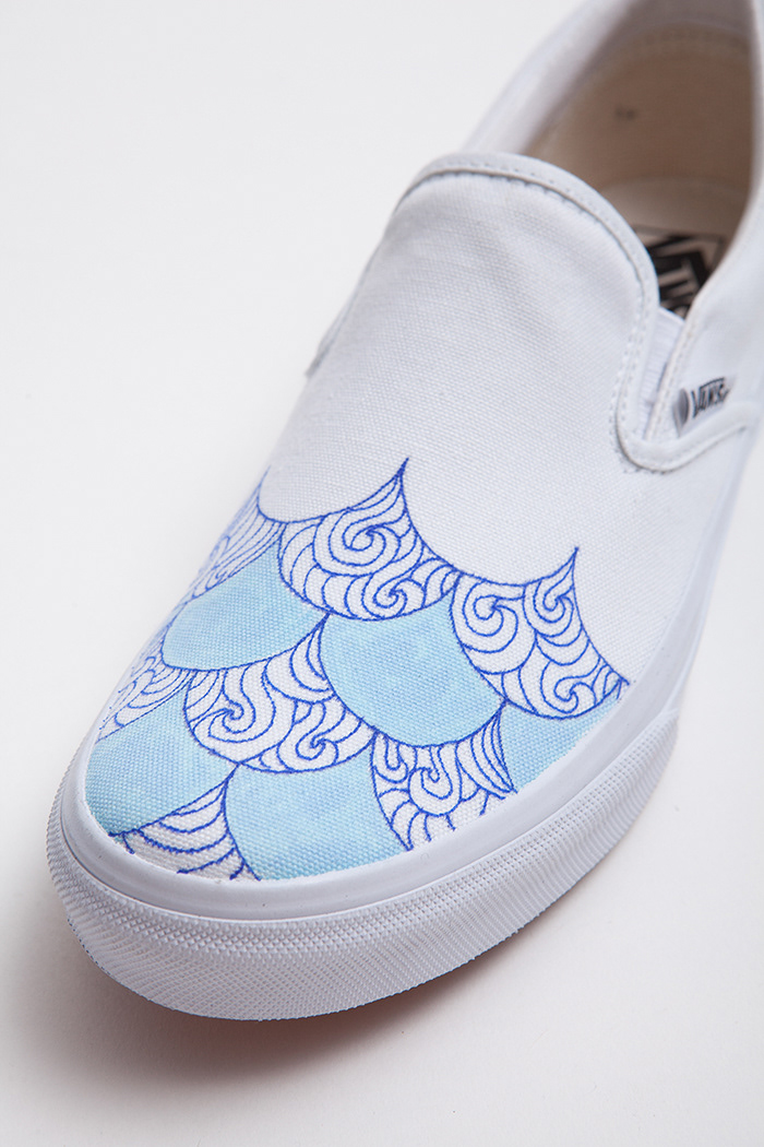 cf4af10b2a2 Vans Shoe Custom Collab (Japan)