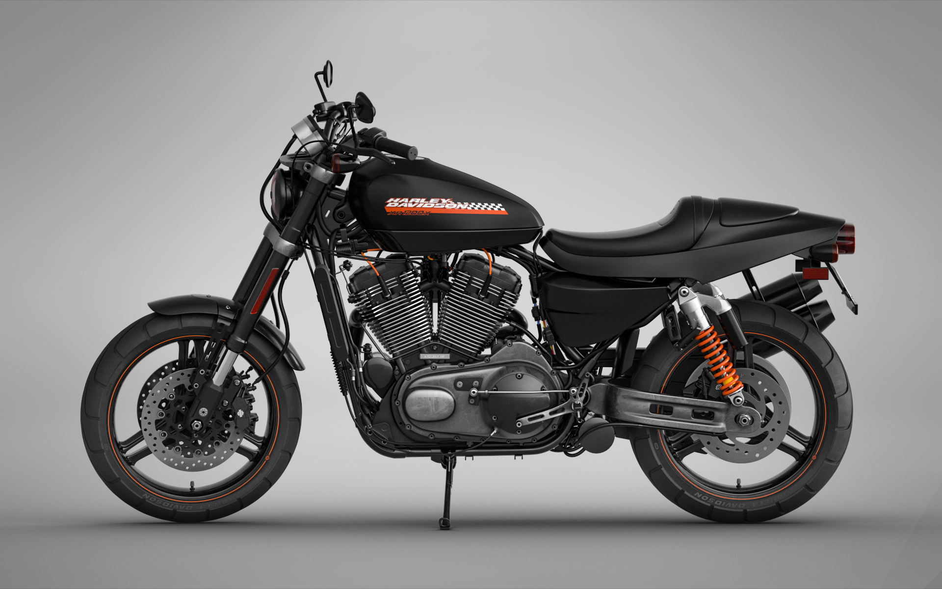Bartosz Peksa - Harley Davidson XR1200x