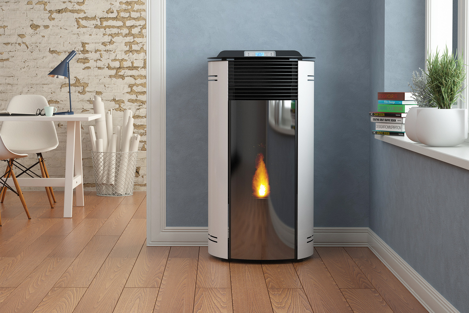 Raul Froll Jessica Pellet Stove