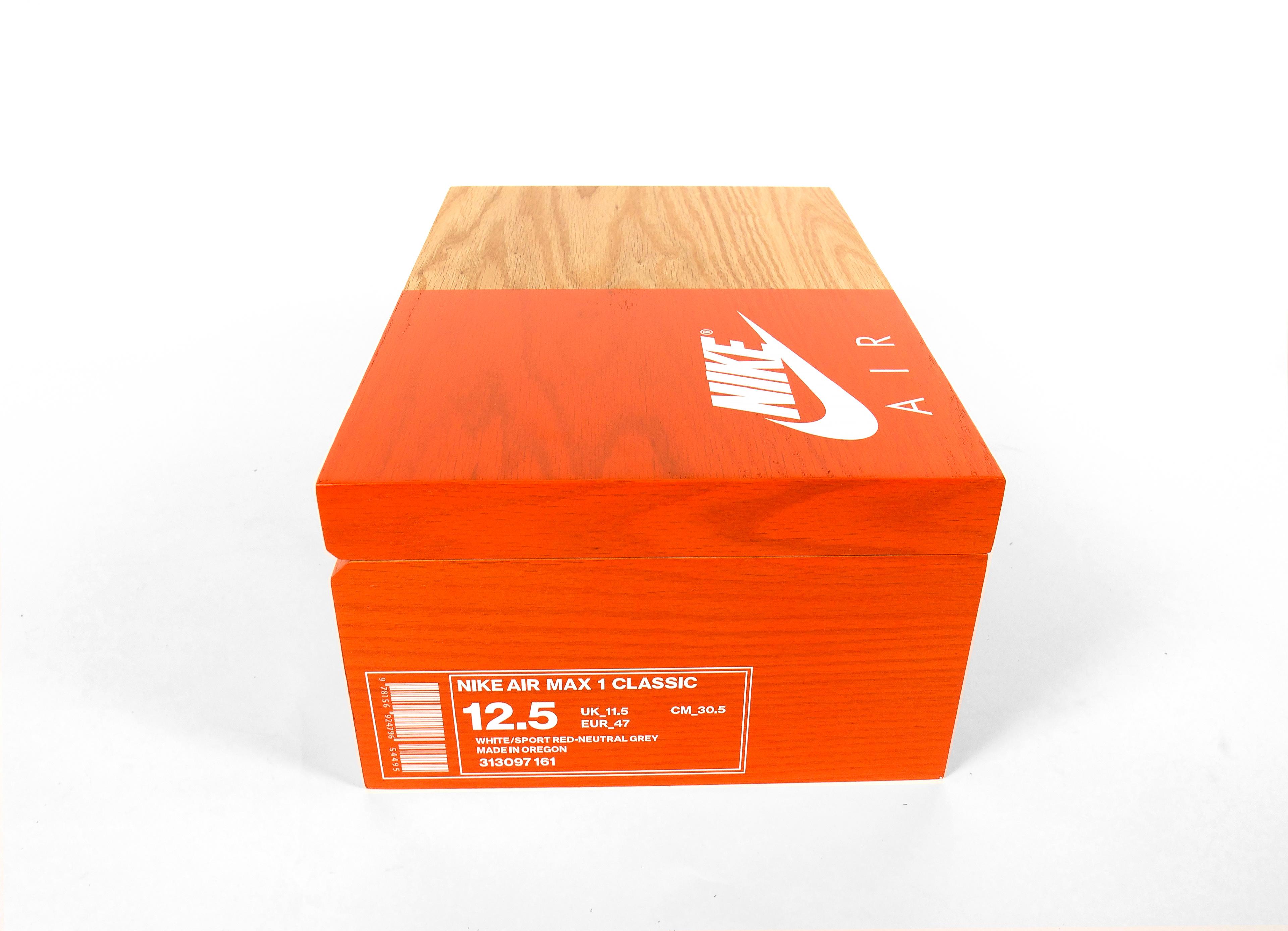Well known MAX CRIST - NIKE SHOE BOX JJ98