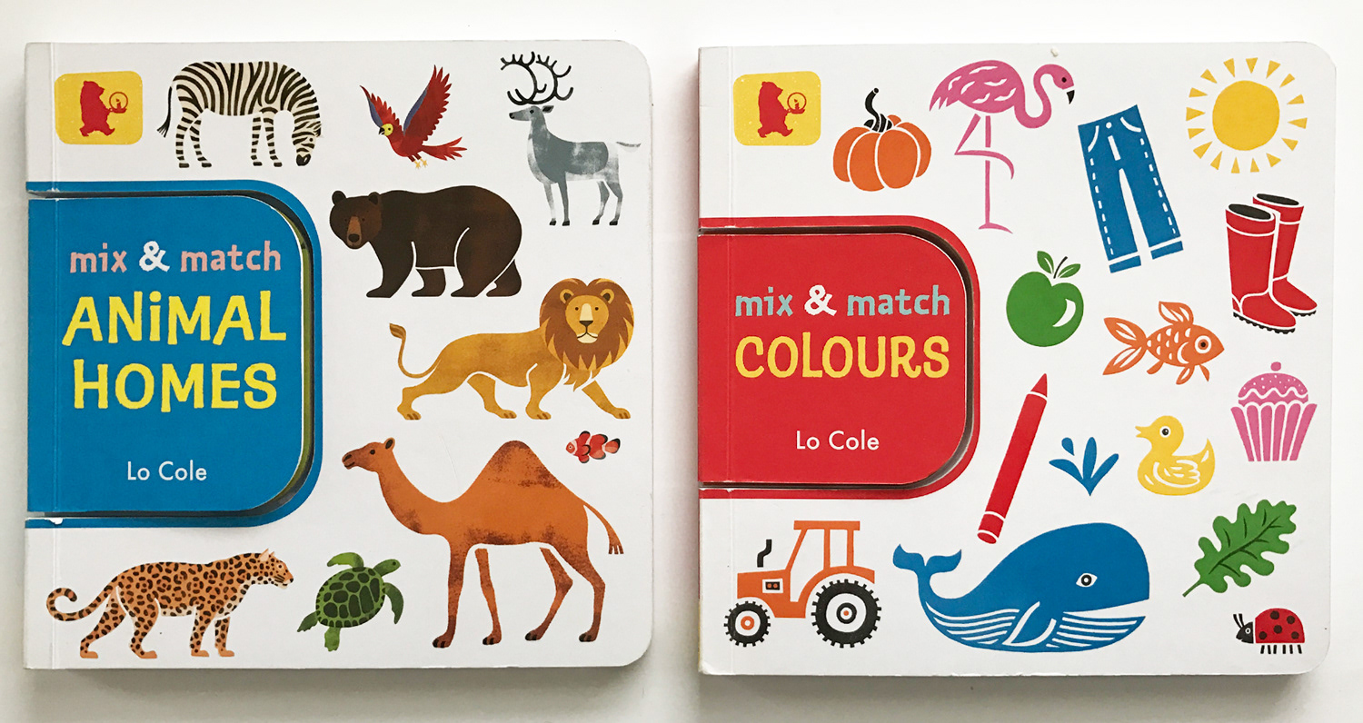 lo cole mix match animal homes colours walker books