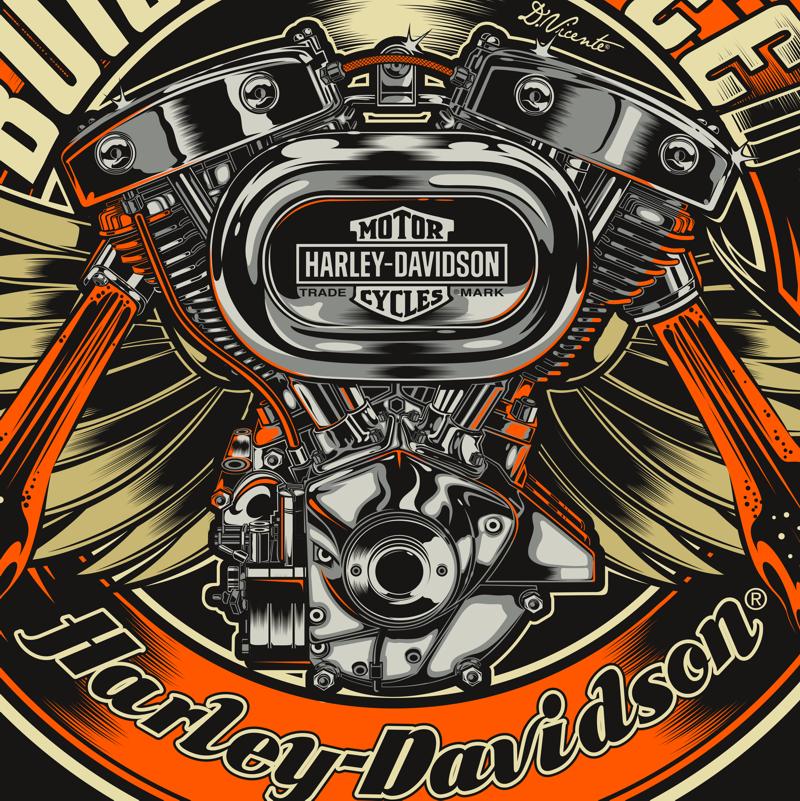 Harley Davidson China Shirts