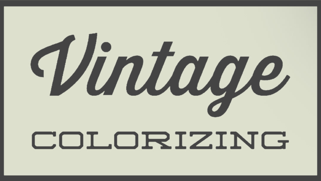 Vintage Colorizing