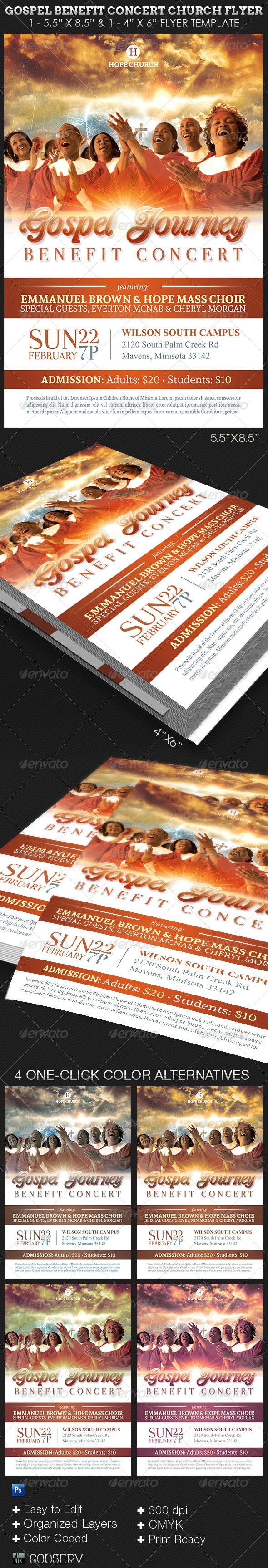Michael Taylor Godserv Print Template Portfolio Gospel Benefit