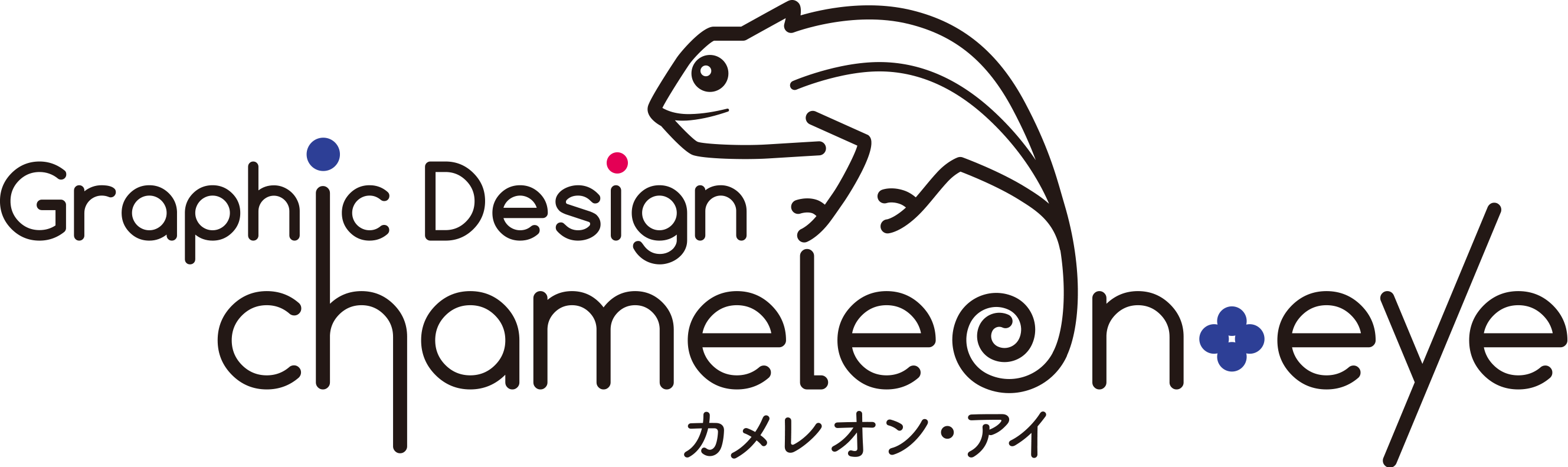 Graphic Design chameleon-eye