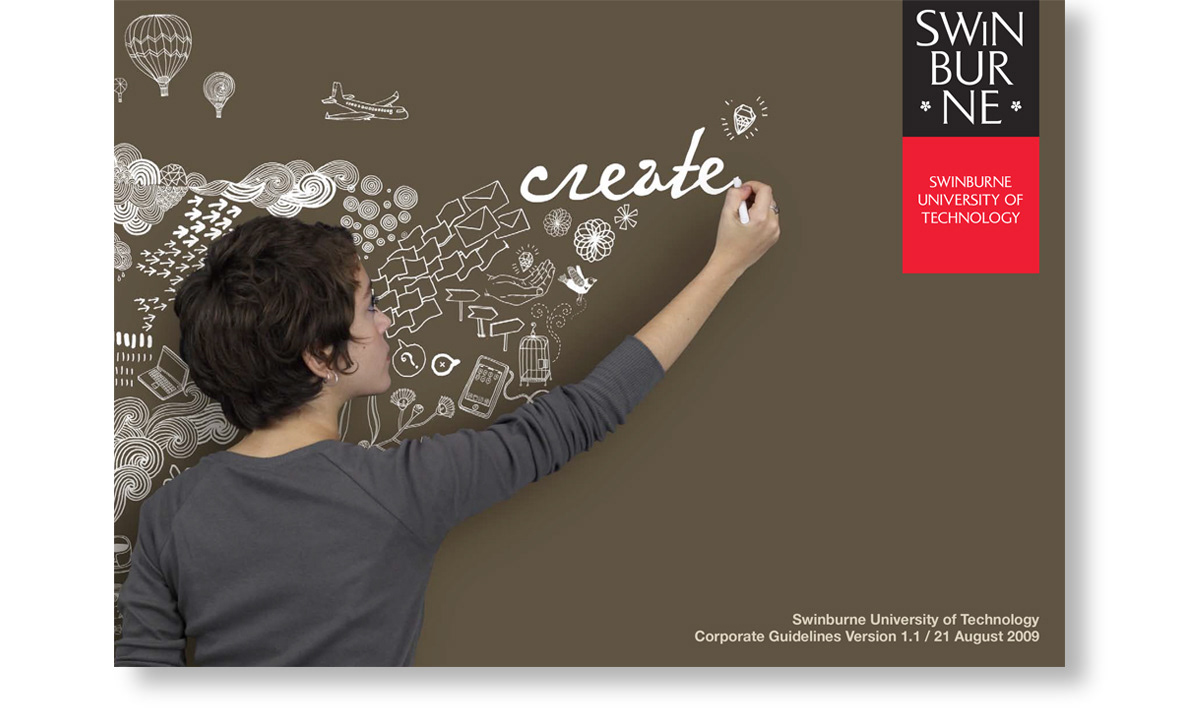 design is swinburne university publication design