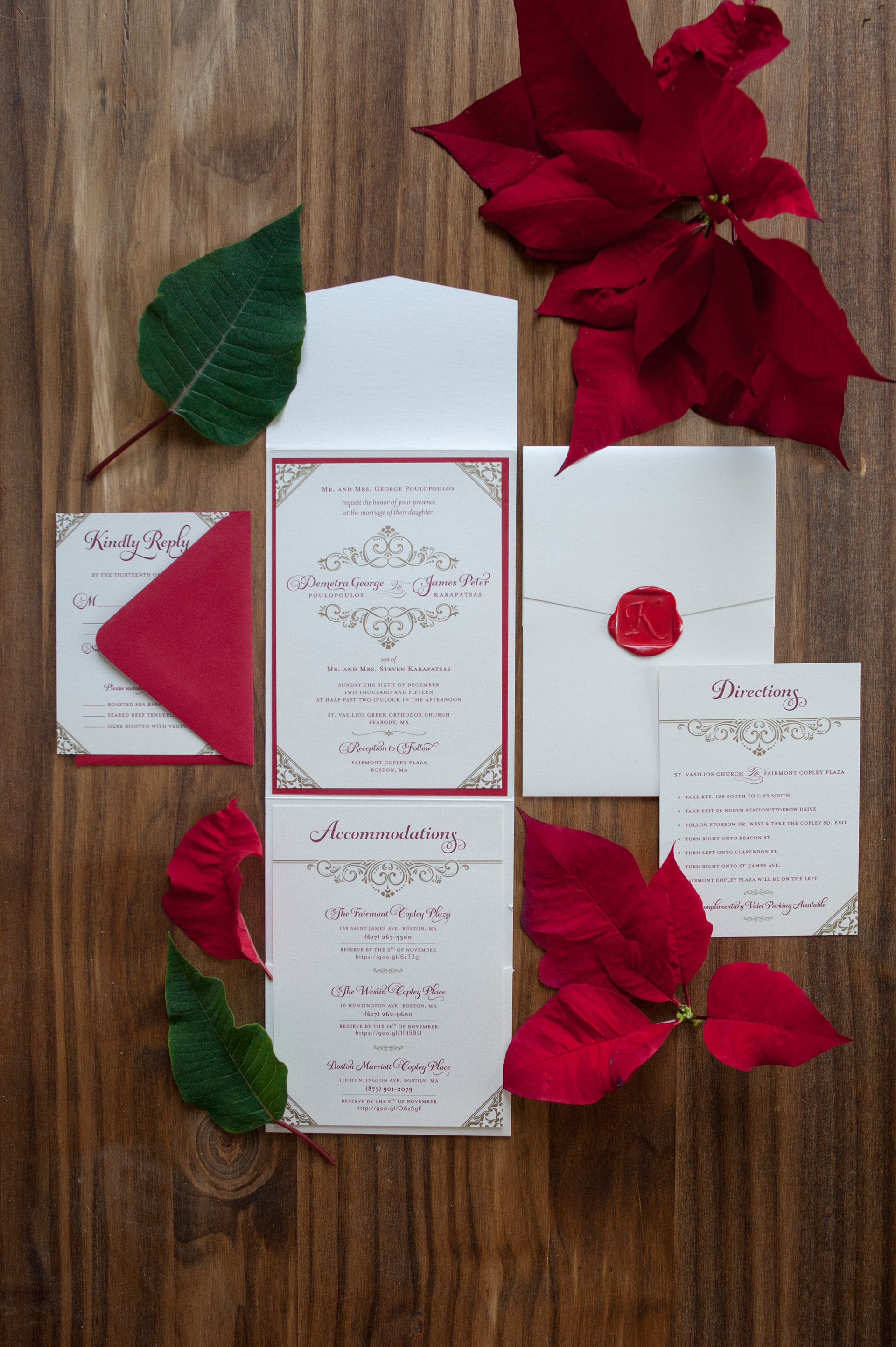 Maria Poulopoulos - Wedding Branding, Deme