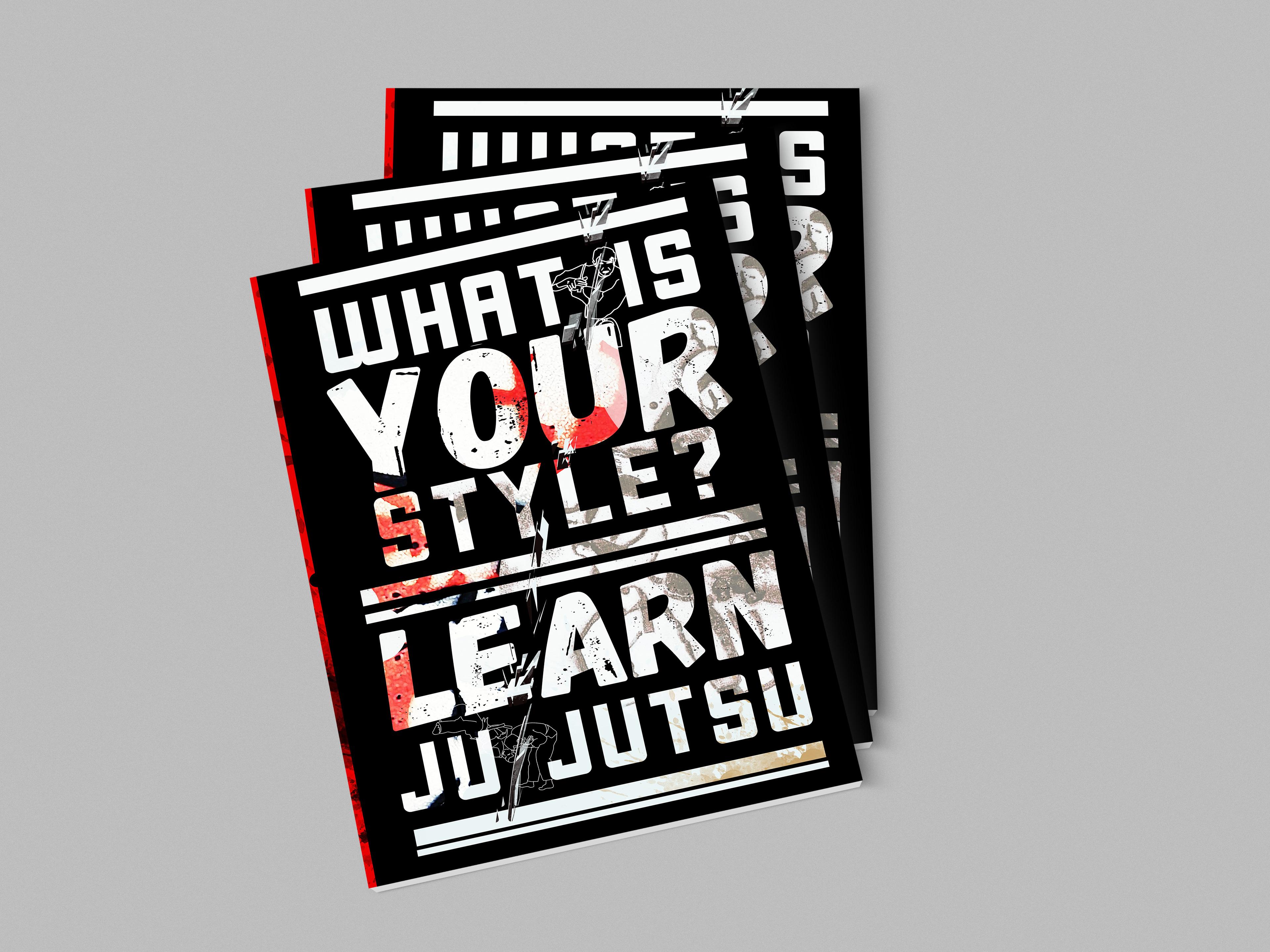 damon hayward self defence advertising booklet