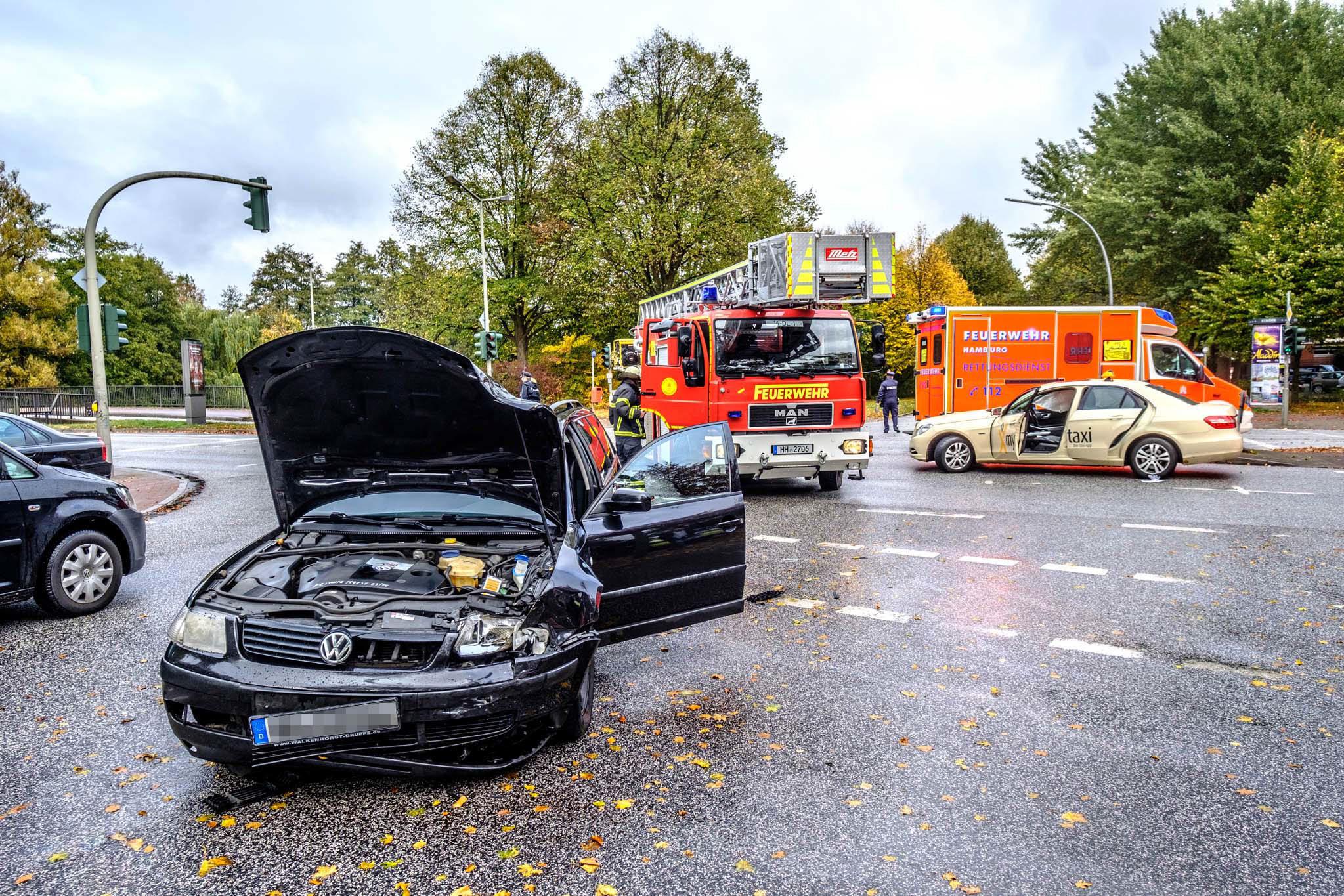 Michael Arning - 2018-10-18 Unfall auf der Sengelmannstraße