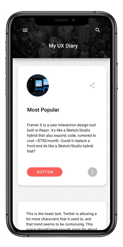 jani anderson - Responsive Web App in Vue js