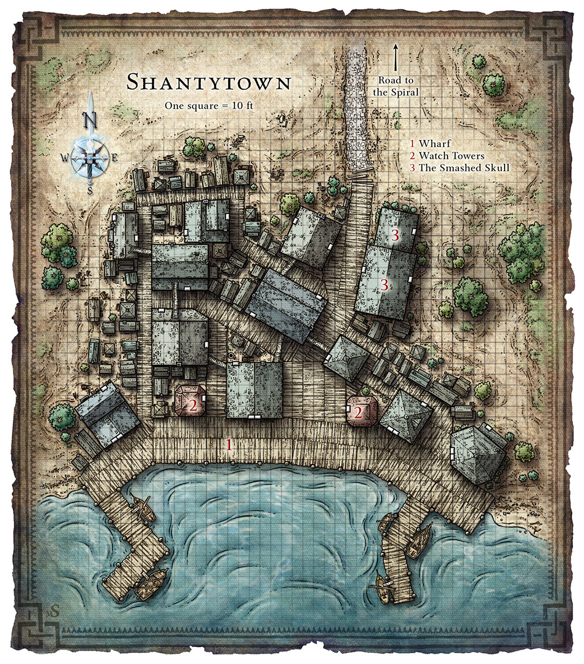 Mike Schley's Portfolio - Tactical Game Maps