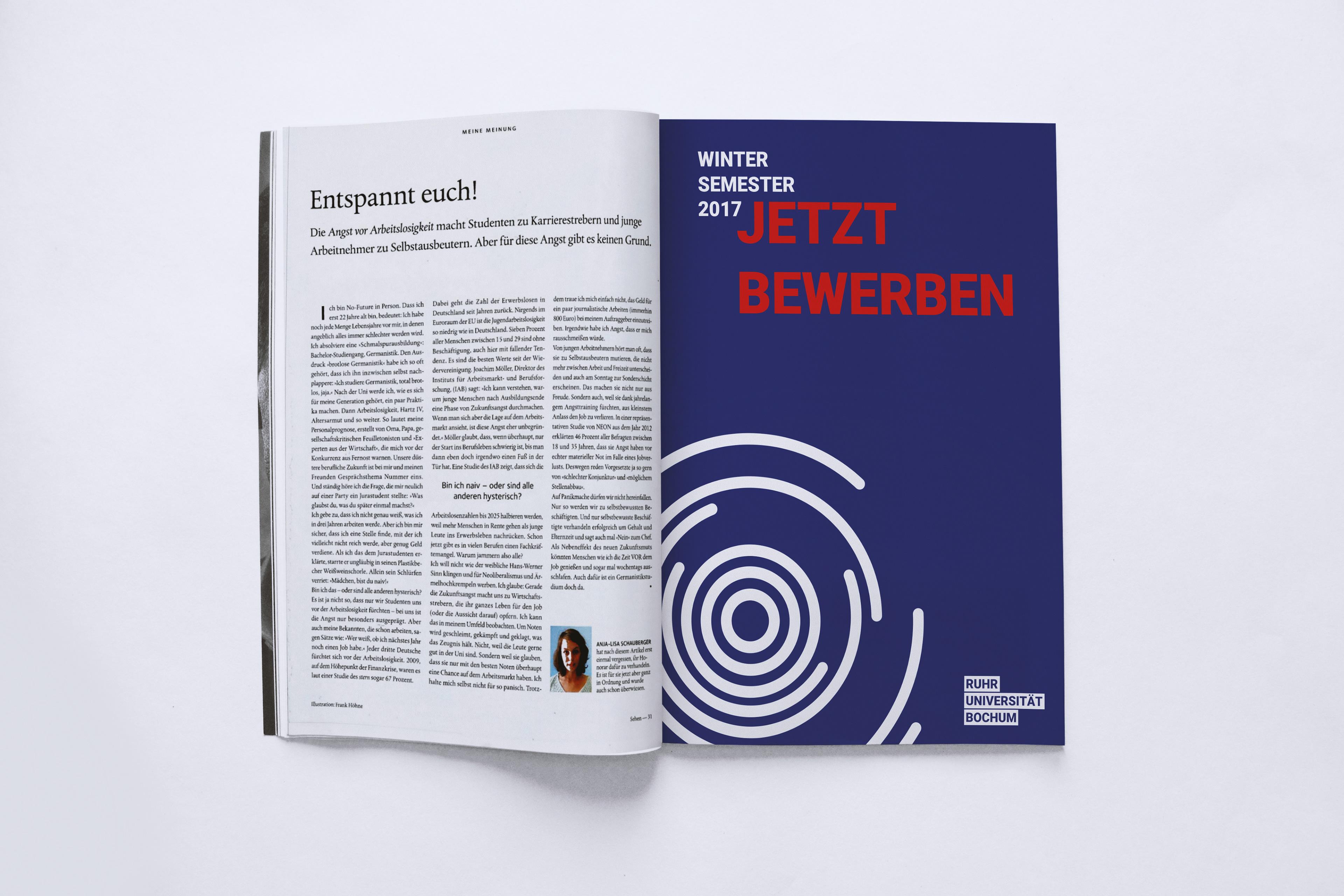 fullscreen - Uni Bochum Bewerbung