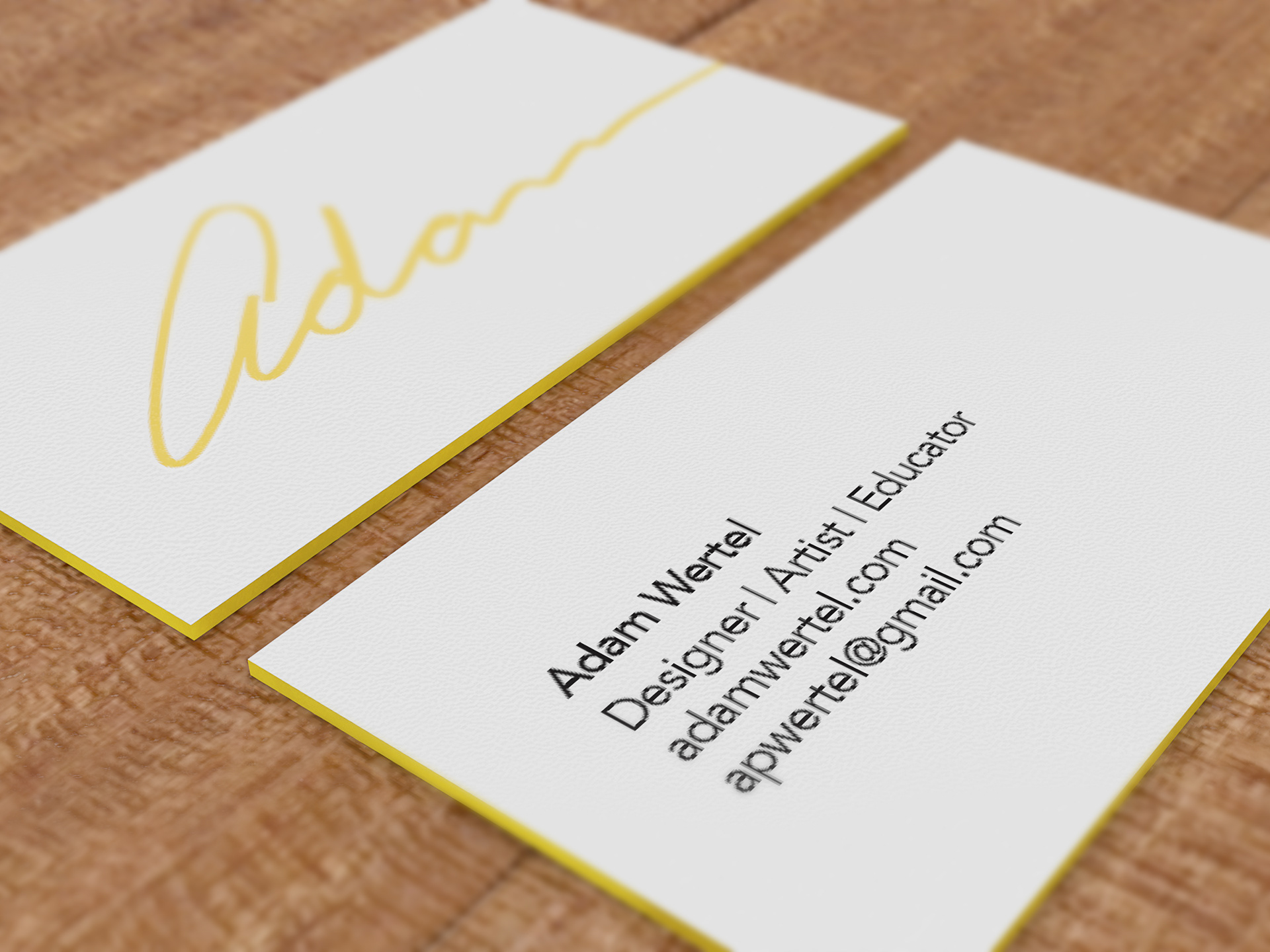 Adam wertel personal branding business card personal branding business card colourmoves