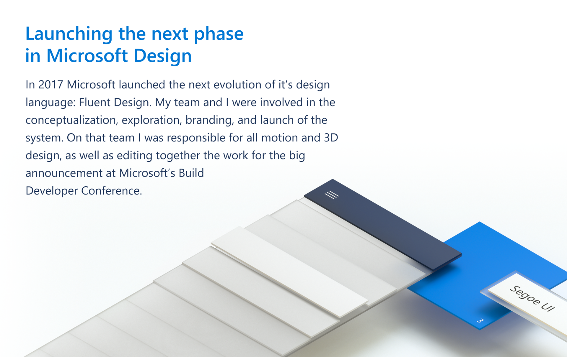 Cody Sorgenfrey Microsoft Fluent Design System