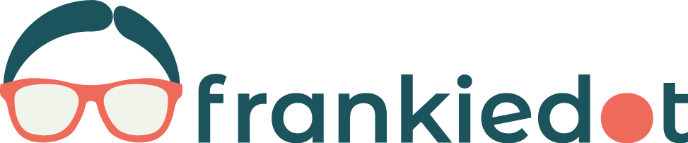 Frankie dot's logo and link to Frankie's portfolio page.