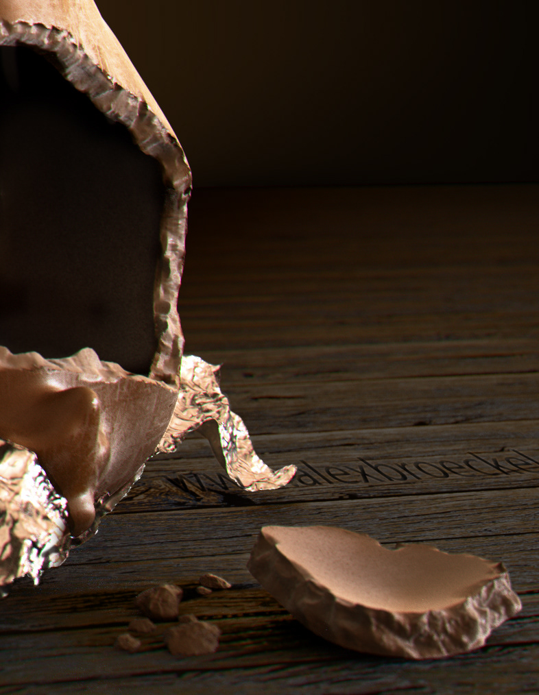 Alex Broeckel - Chocolate Bunny CGI