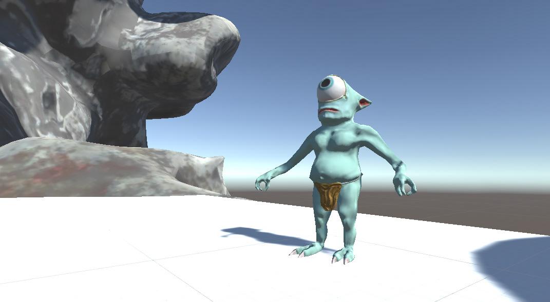 Logan Sinnett - 3D Artist - Game Character Asset: Fblthp