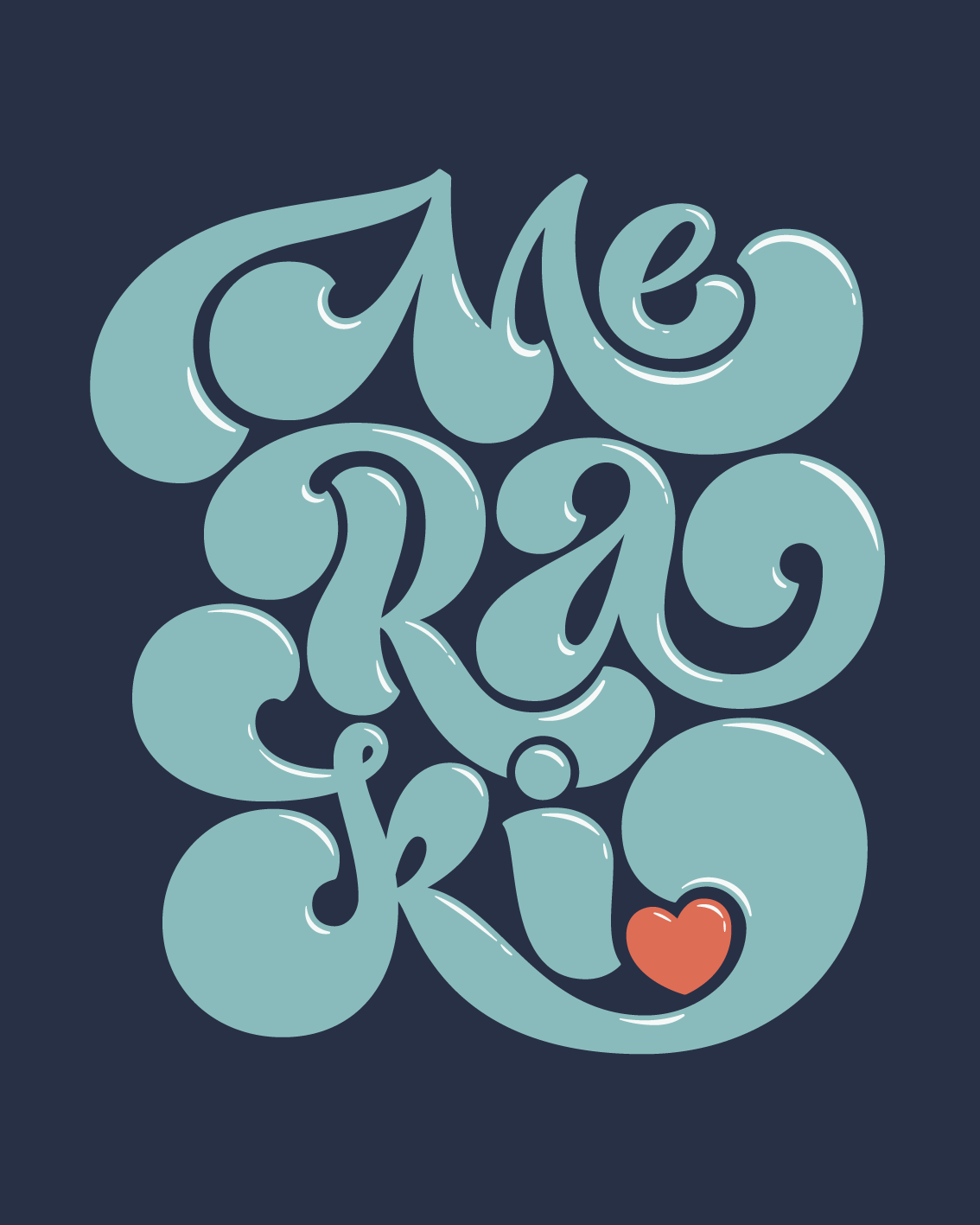 Mel cerri lettering artist amazing words meraki is a greek word that means to do something with passion with absolute devotion with undivided attention biocorpaavc Image collections