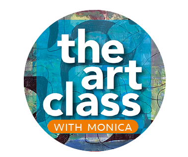 the art class with Monica