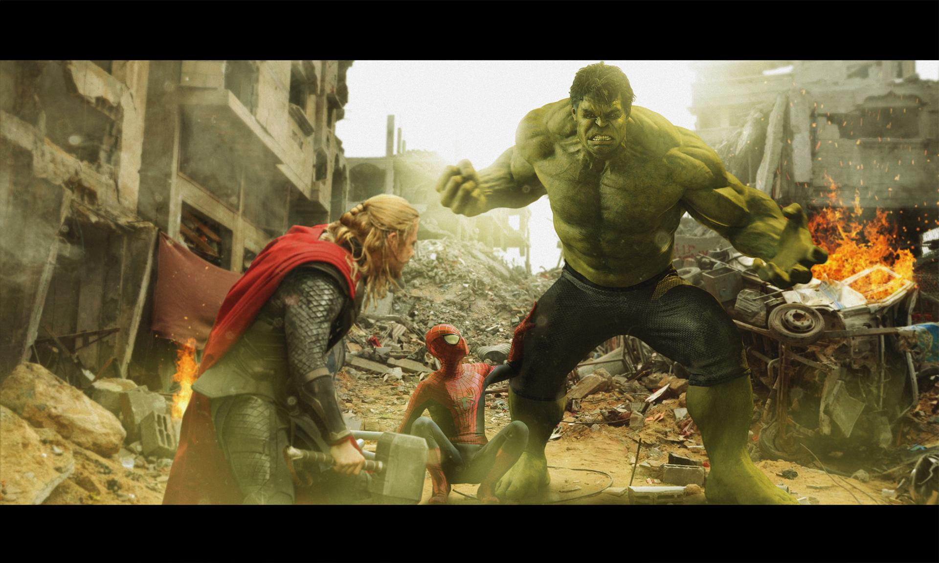 Dimitri Morson - Hulk vs Thor
