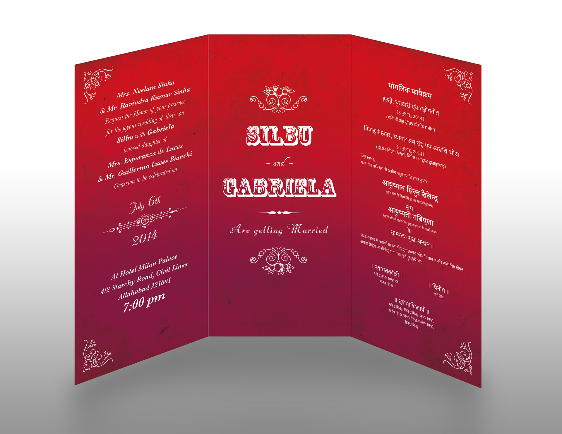 Maria Luces - S&G Wedding Invitations