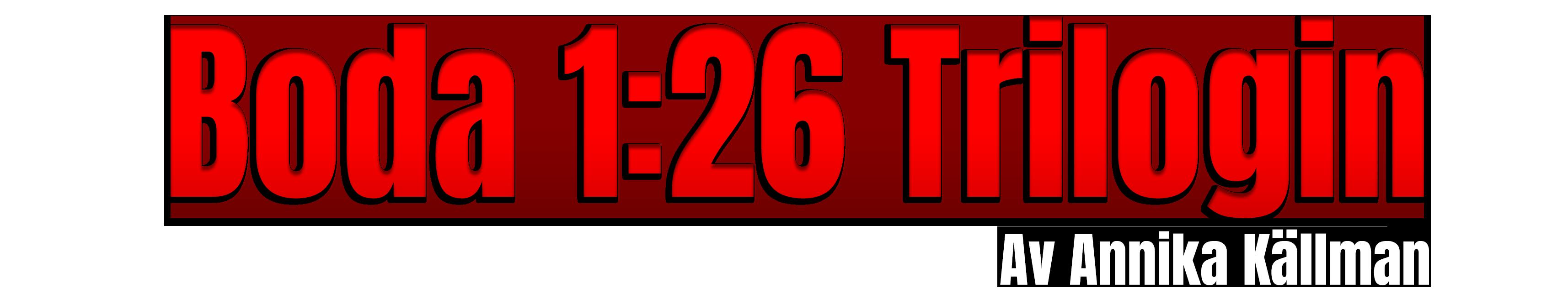 Boda 1:26 Trilogin
