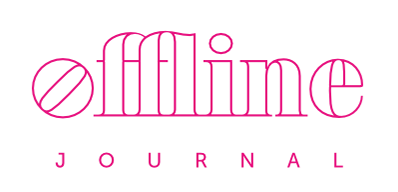 Offline Journal logo - documenting contemporary photography in Wales