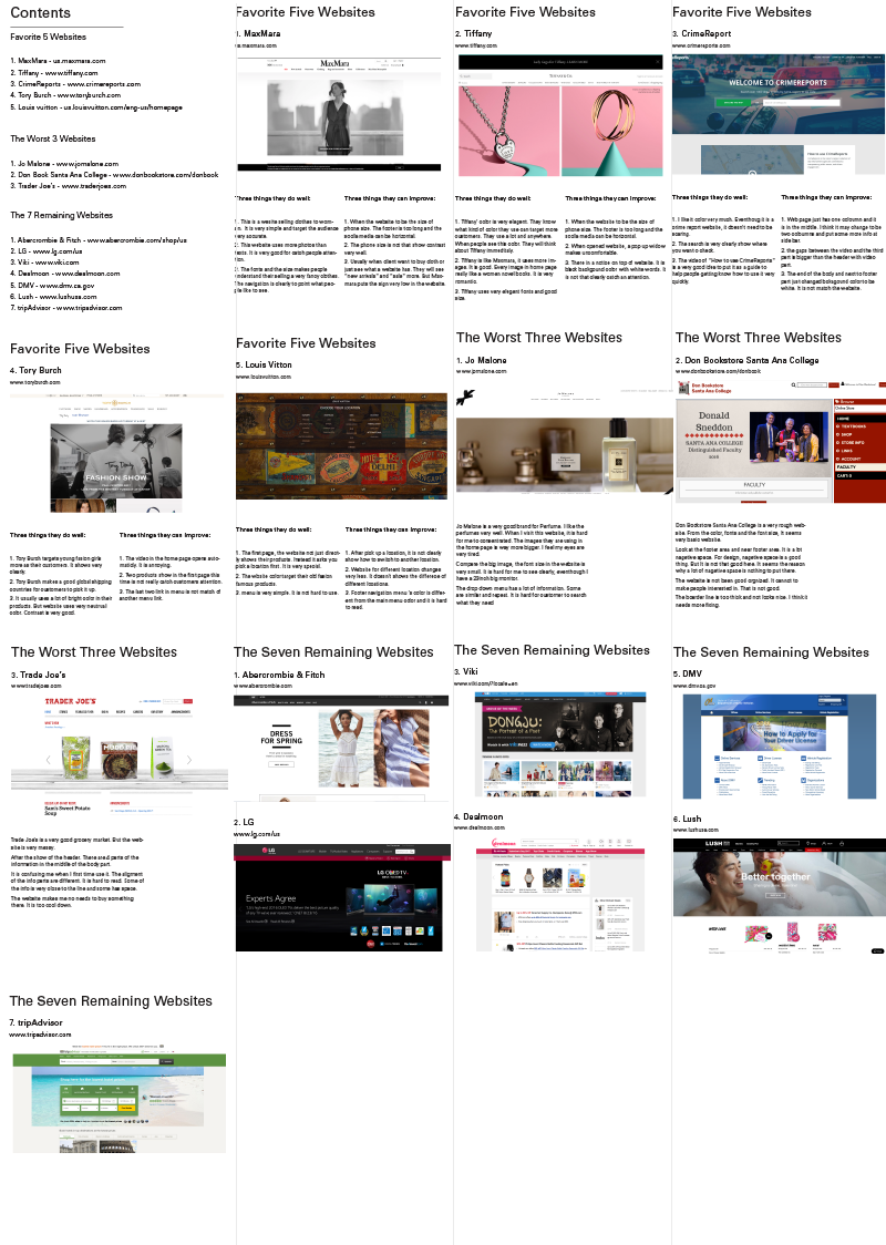 Kate Jie Yu - Analysis, Research and Redesign LUSH Website