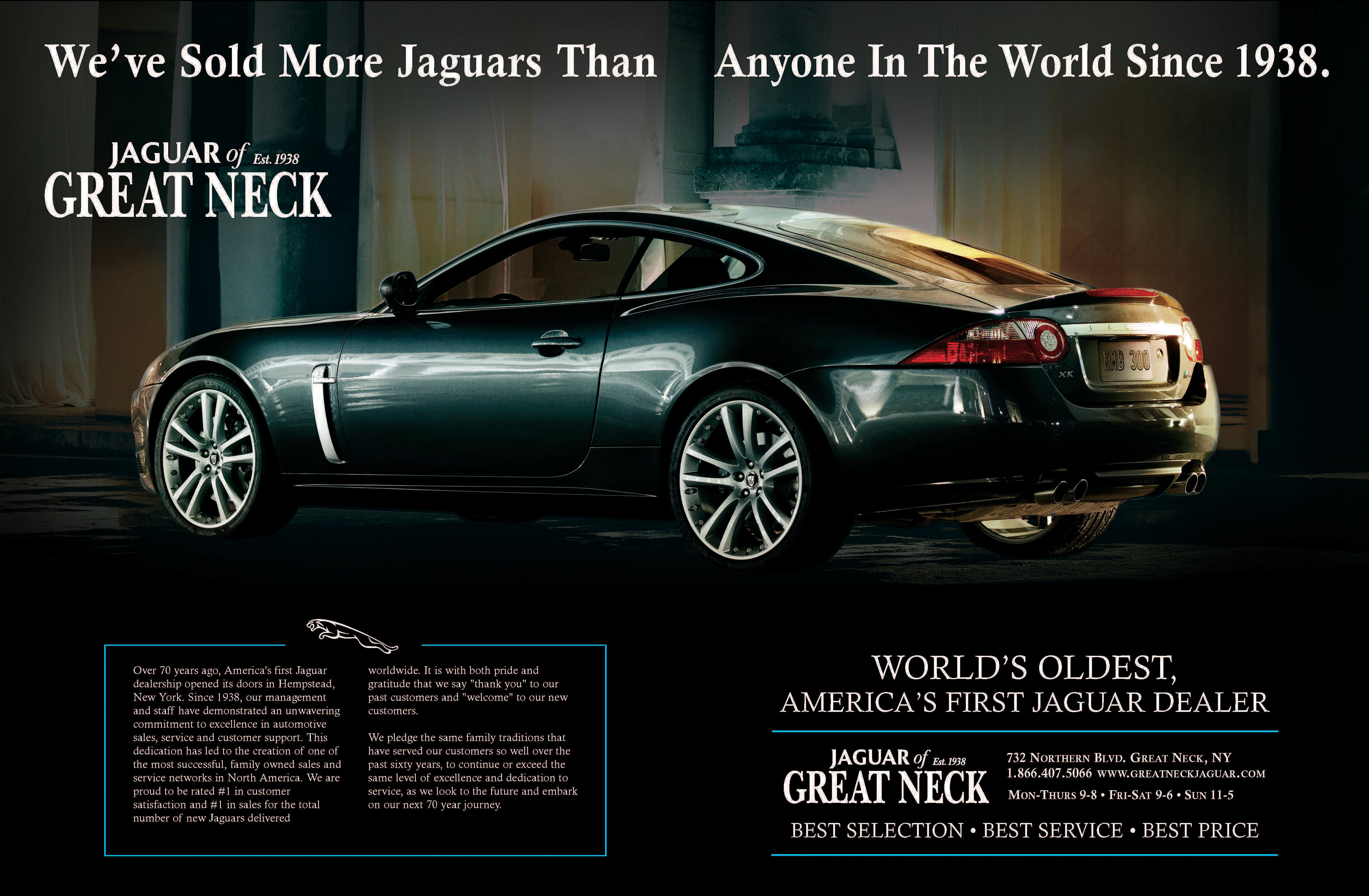 Over 70 Years Ago America S First Jaguar Dealership Opened Its Doors In Hempstead New York Since 1938 Our Management