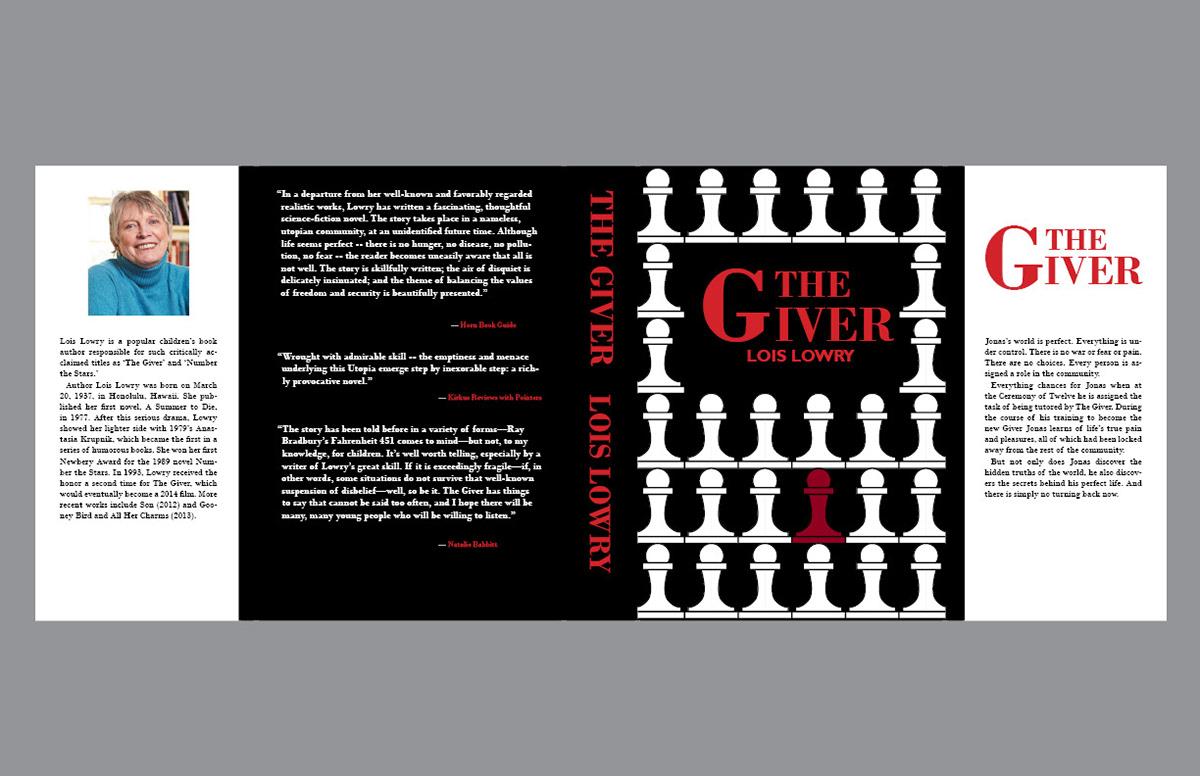 Book Cover Black Jacket : Wildo perallon the giver book covers