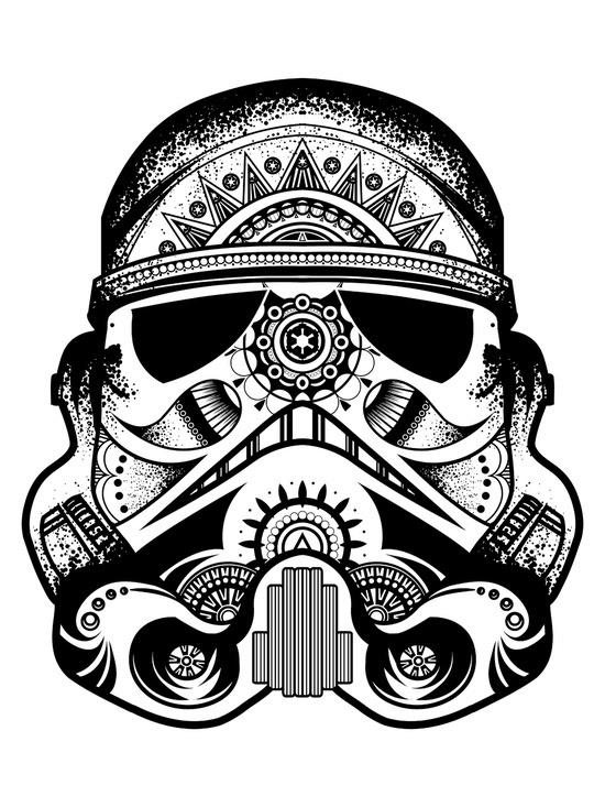 Patrick Mcwain Stormtrooper Mandala