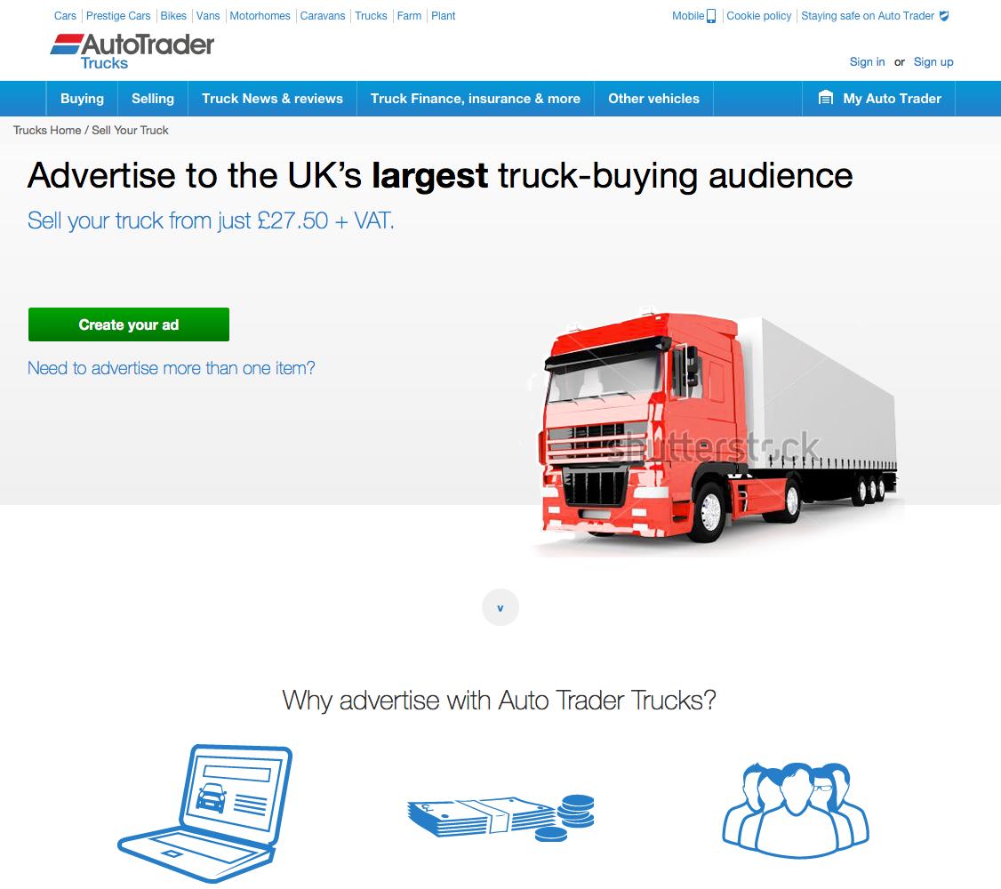 Stuart Bainbridge UX Designer - Auto Trader Truck, Plant & Farm OLA ...