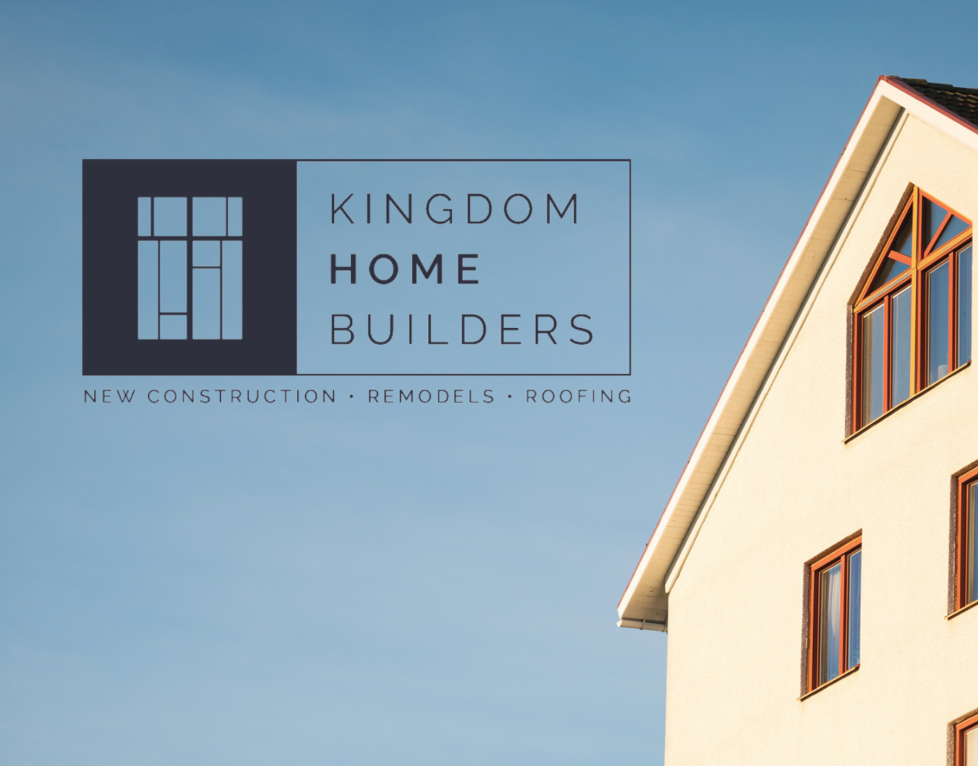 Brittany Farley Kingdom Home Builders Logo Business Cards Web