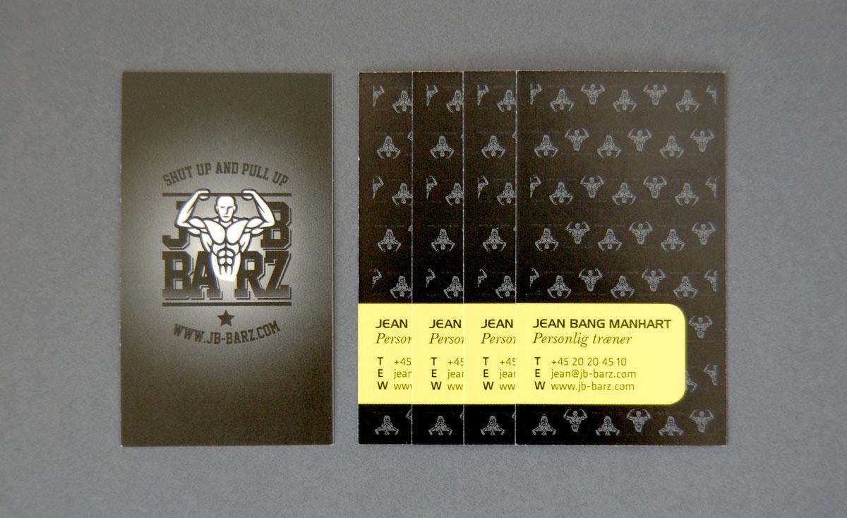 Kristin Sørum - JB-BARZ Business Card