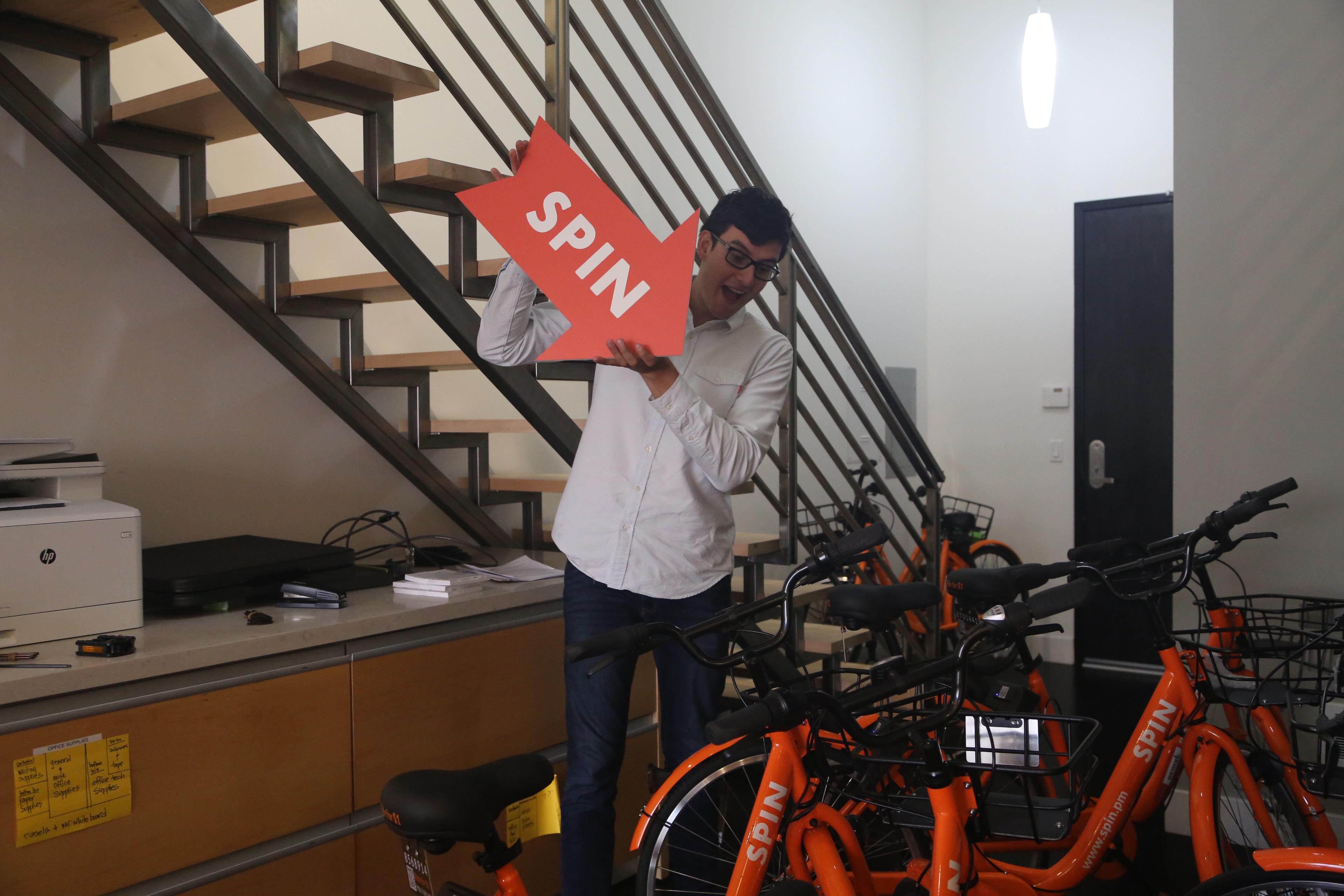 Fifi Huang - Spin Bikeshare