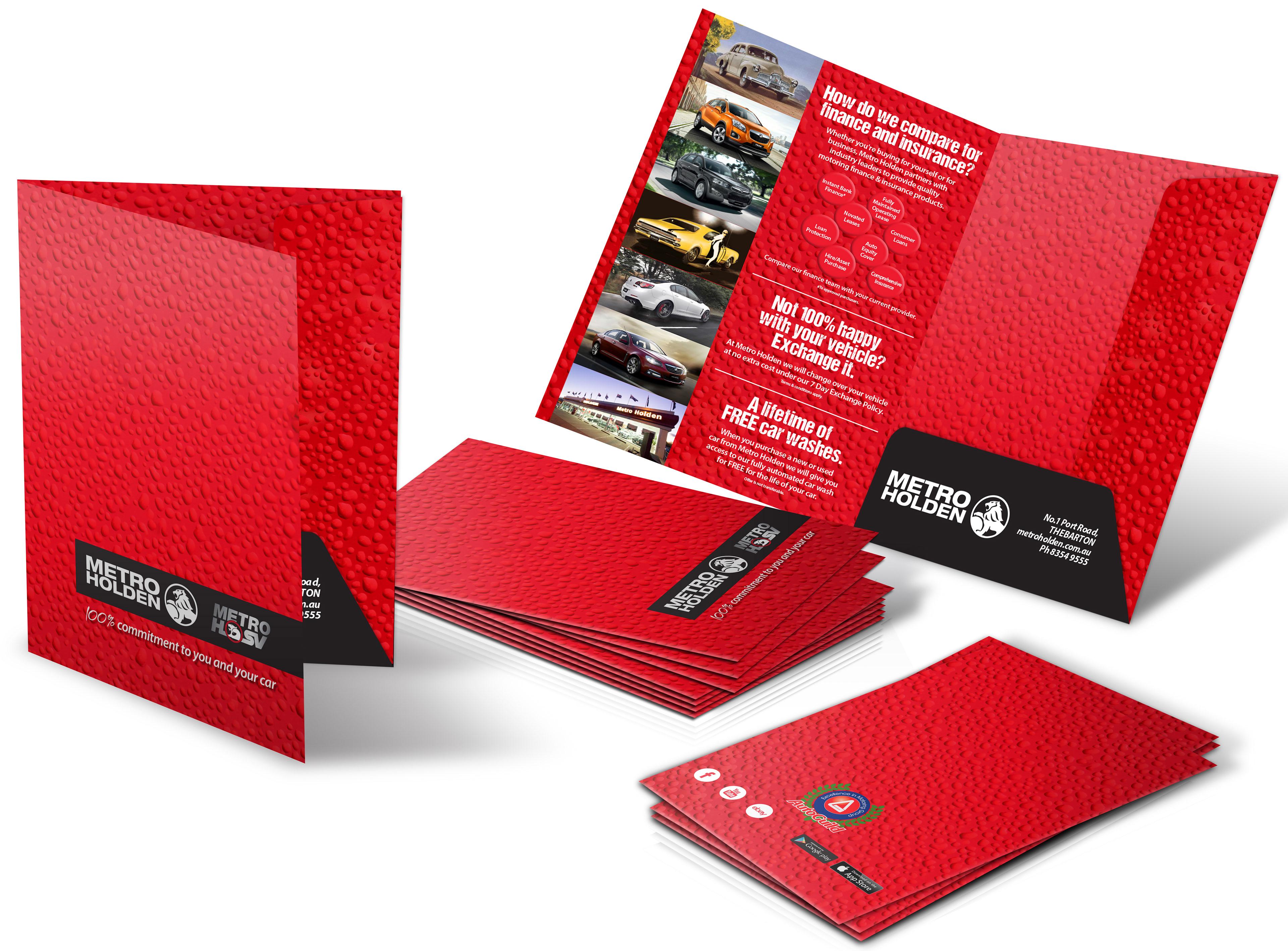 Redesignsa Metro Holden Presentation Folders