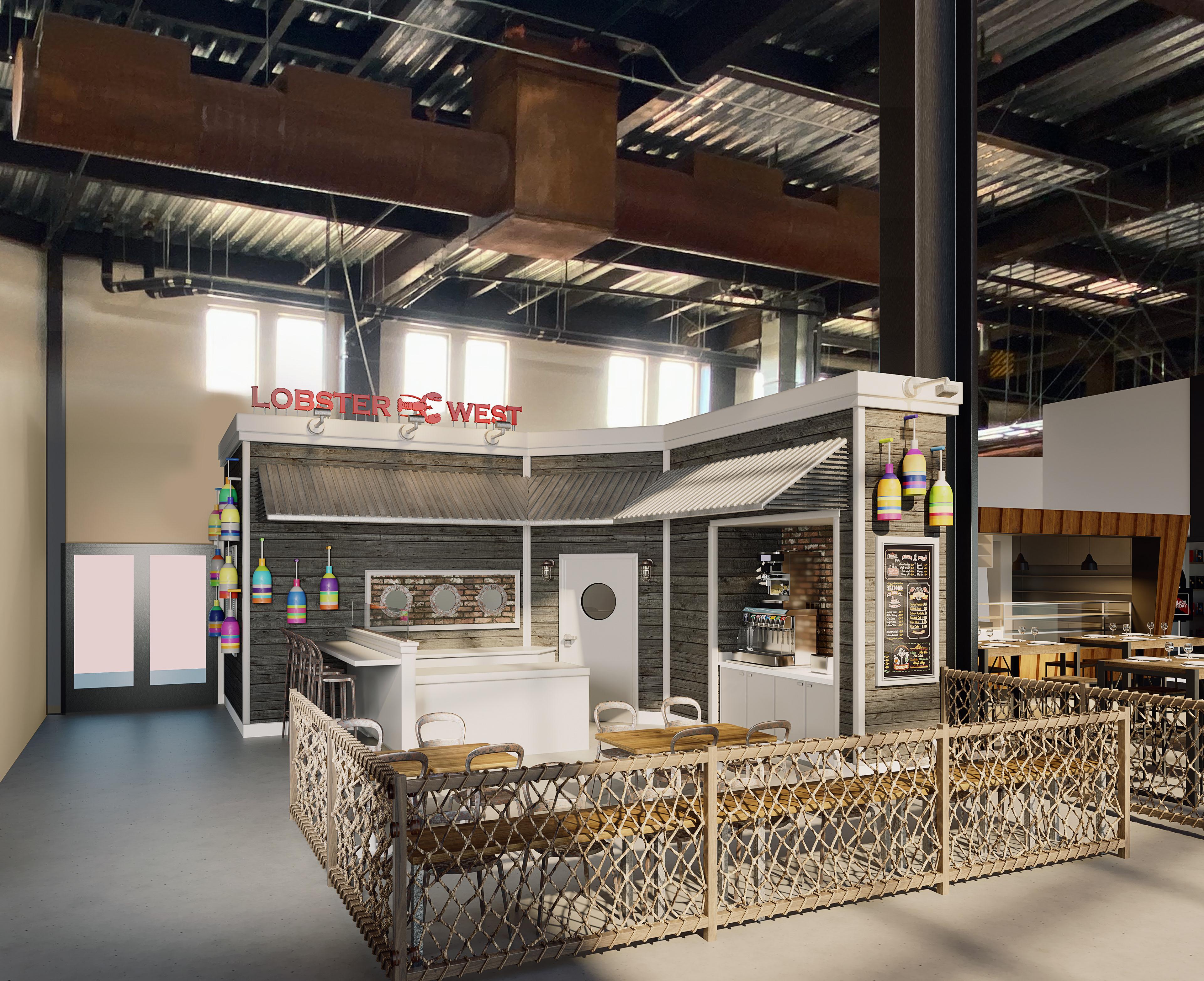 Architectural Renderings - Lobster West
