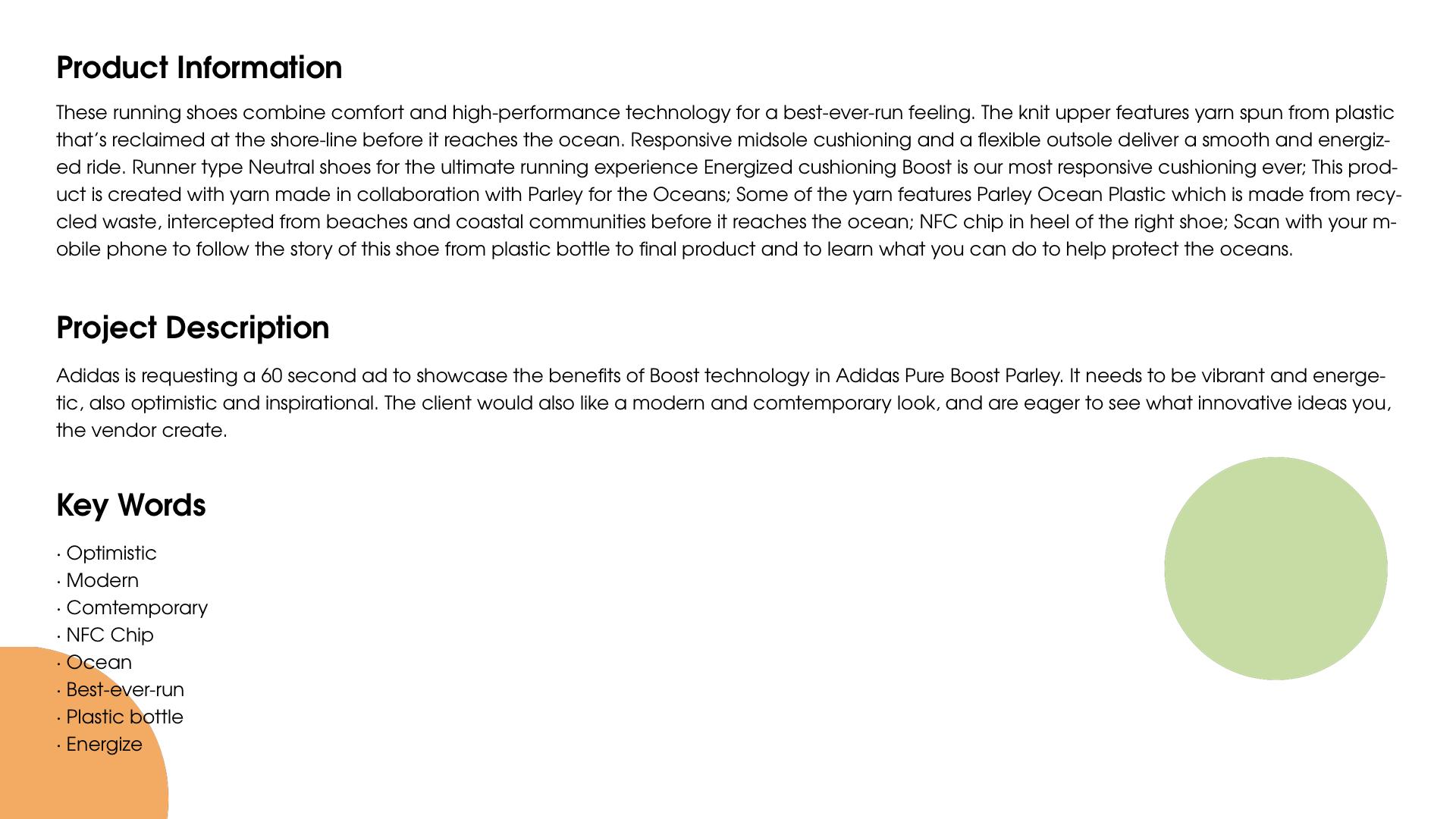 381c080e0 Tianxiao Li - Adidas Ultra Boost Parley ad Production Process Book