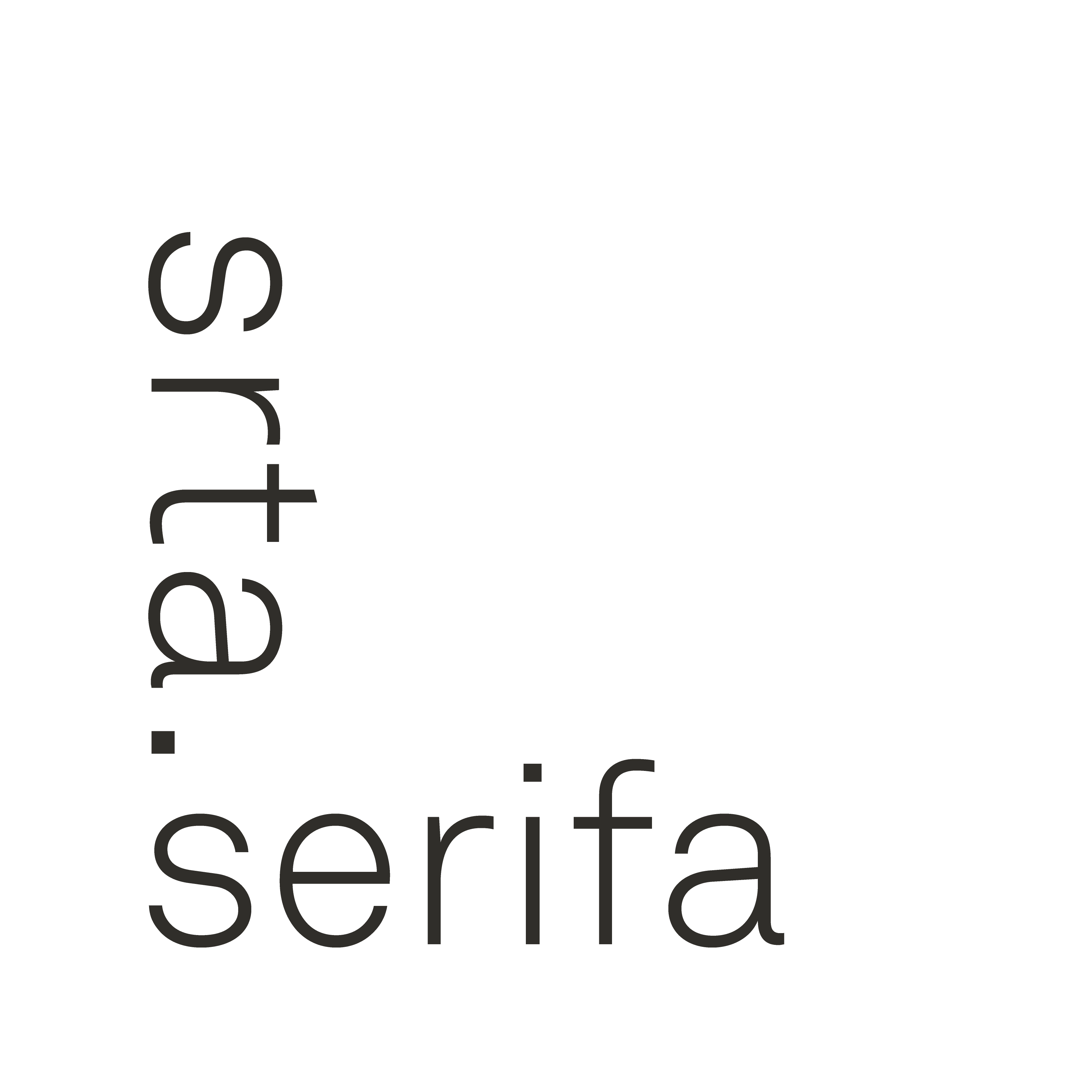 srta serifa
