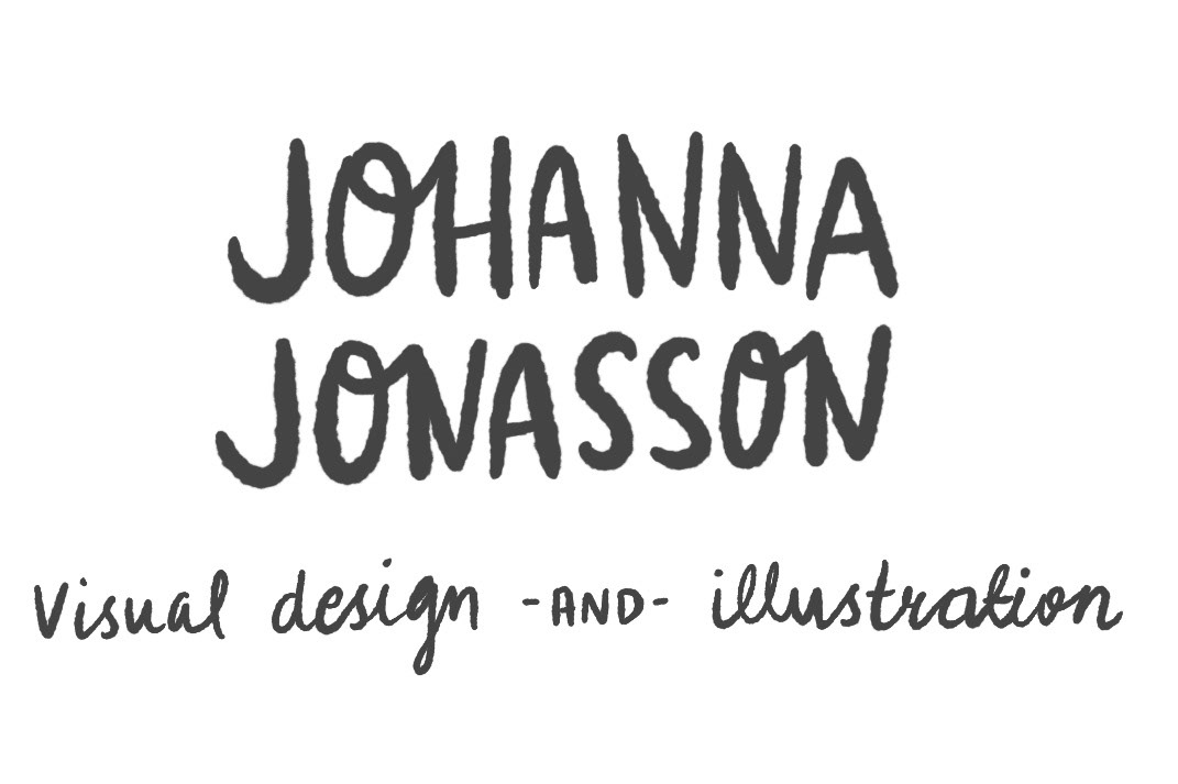 Johanna Jonasson – Visual designer & Illustrator