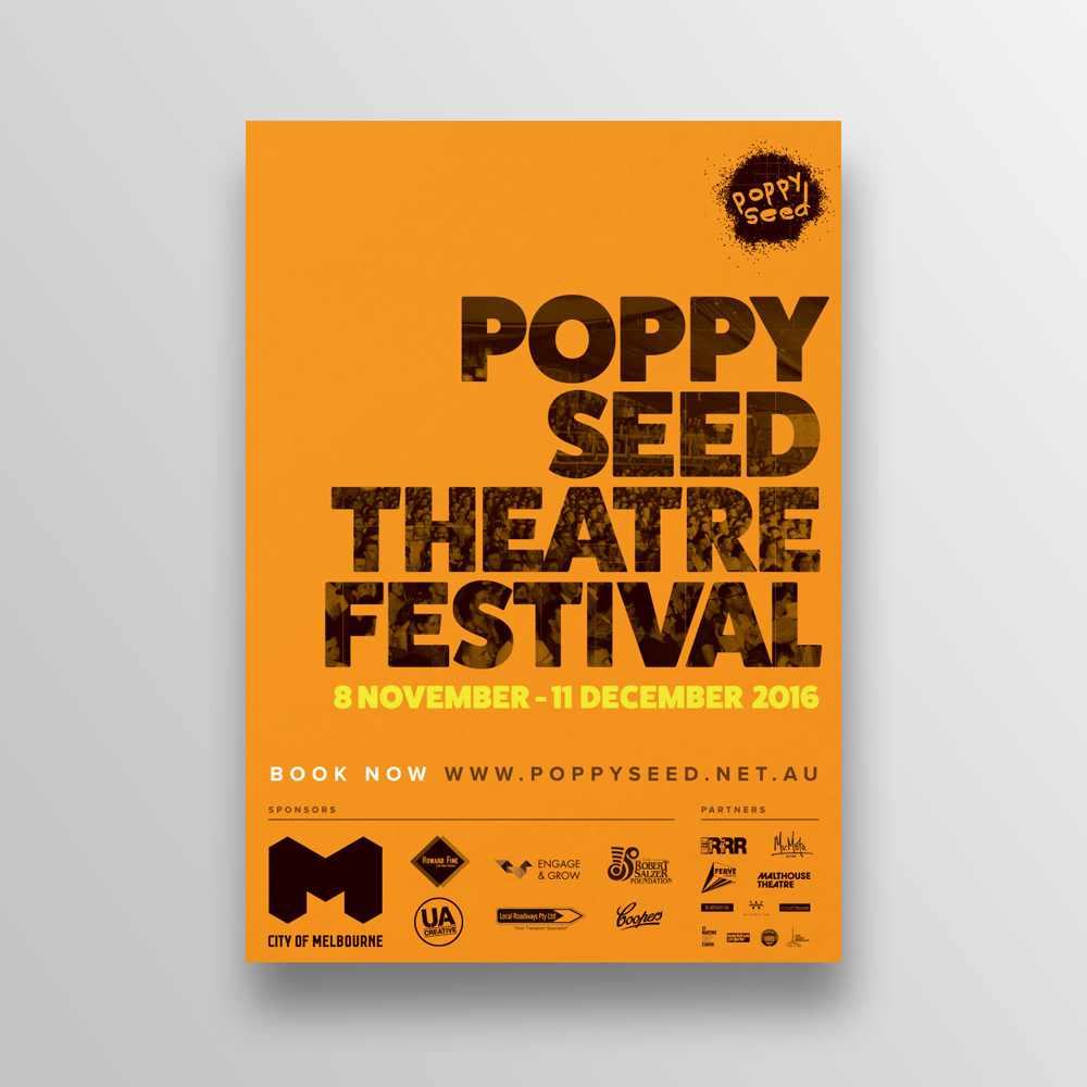 Poppy Seed Theatre Festival Promotional Campaign
