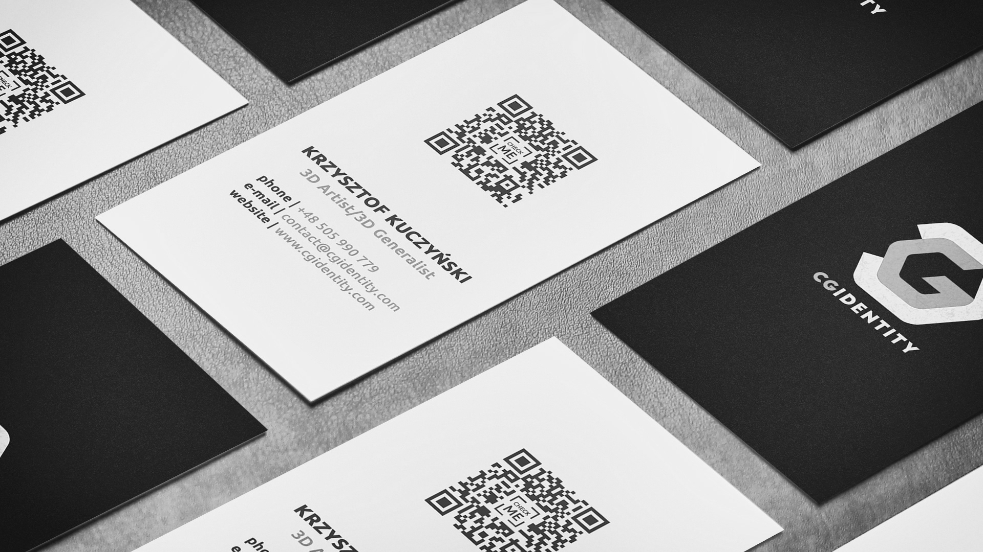 CGIDENTITY - visualize your ideas - BUSINESS CARD