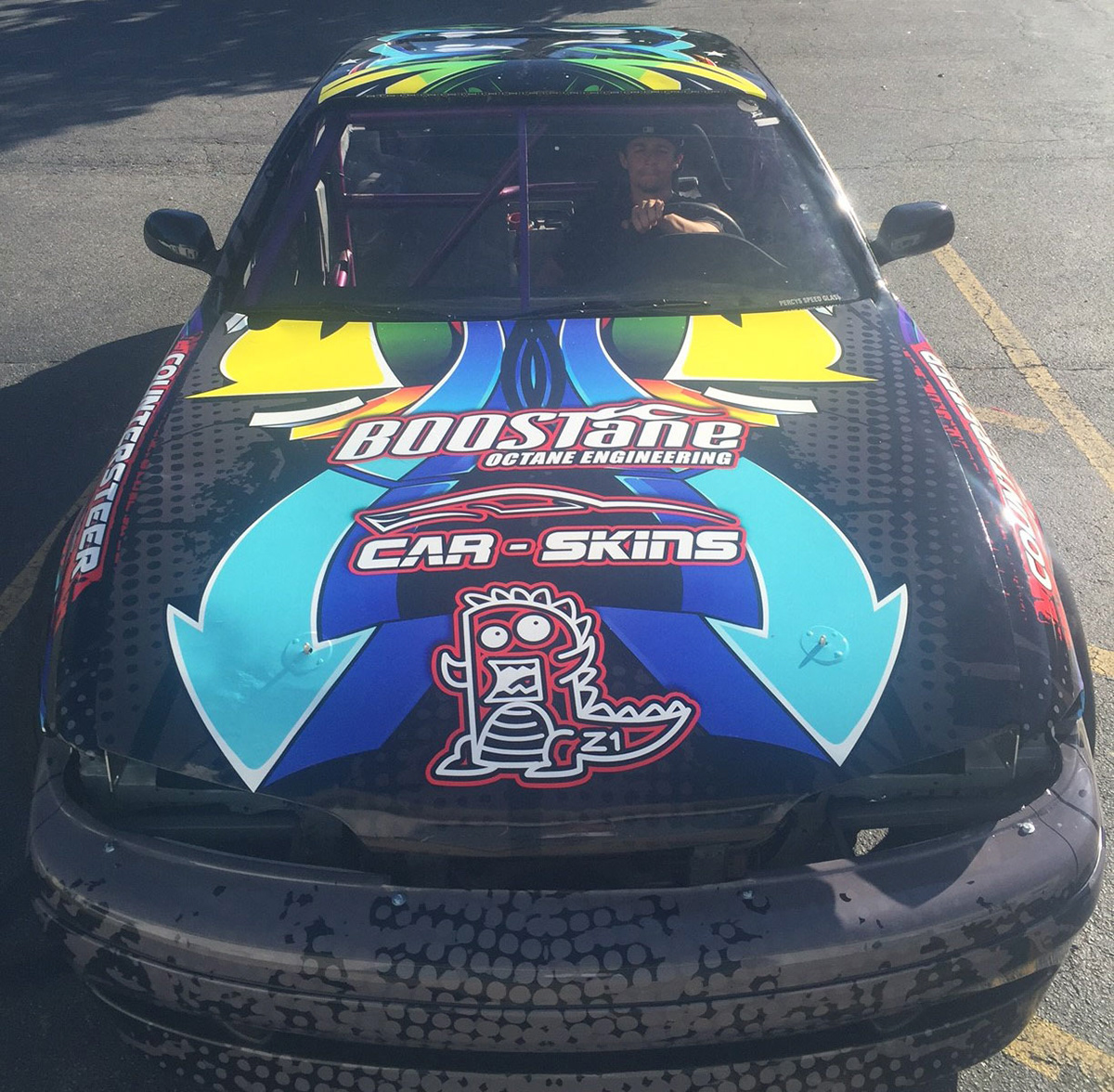 Wraptor Graphix Graphic Design For The Wrap Industry 240sx