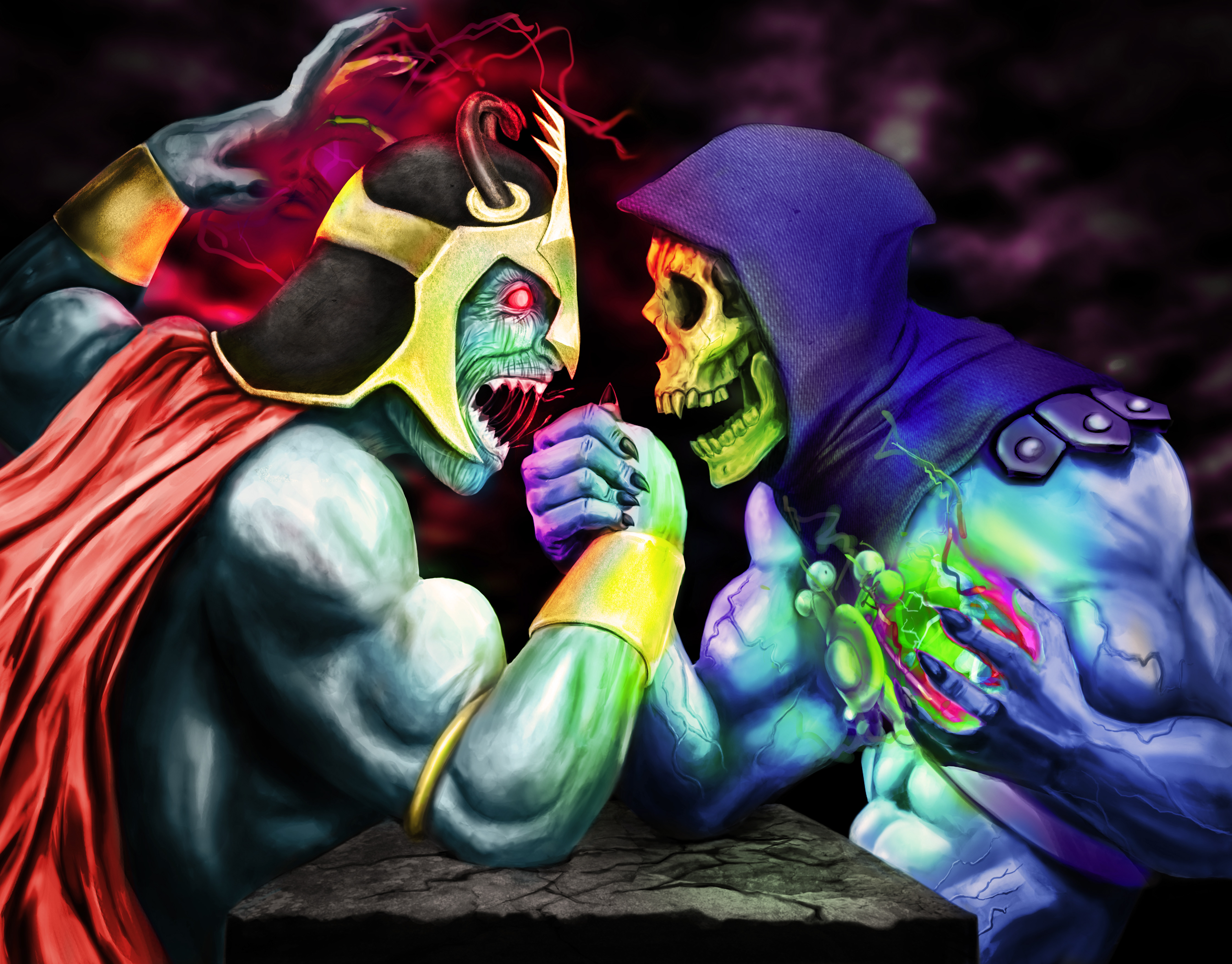 skeletor vs mumm ra - HD 1920×1358
