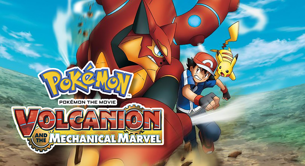 Ed Goldfarb Pokemon Movie Volcanion And The Mechanical Marvel