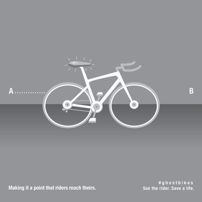 Angel Garza - Ghost Bikes