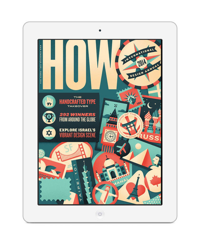 Adam Ladd - Graphic Design, Font Design, Branding - HOW iPad